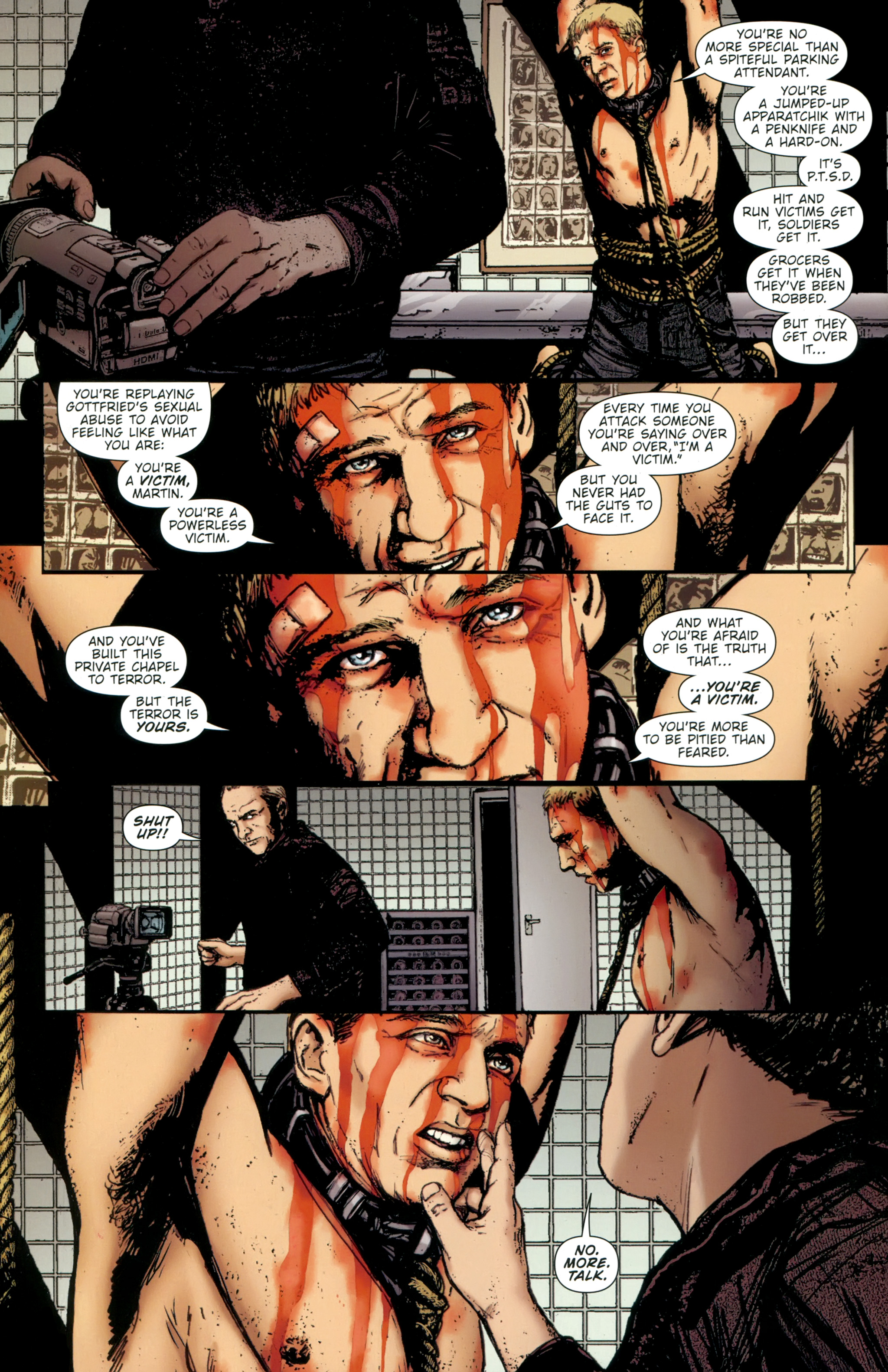 Read online The Girl With the Dragon Tattoo comic -  Issue # TPB 2 - 98