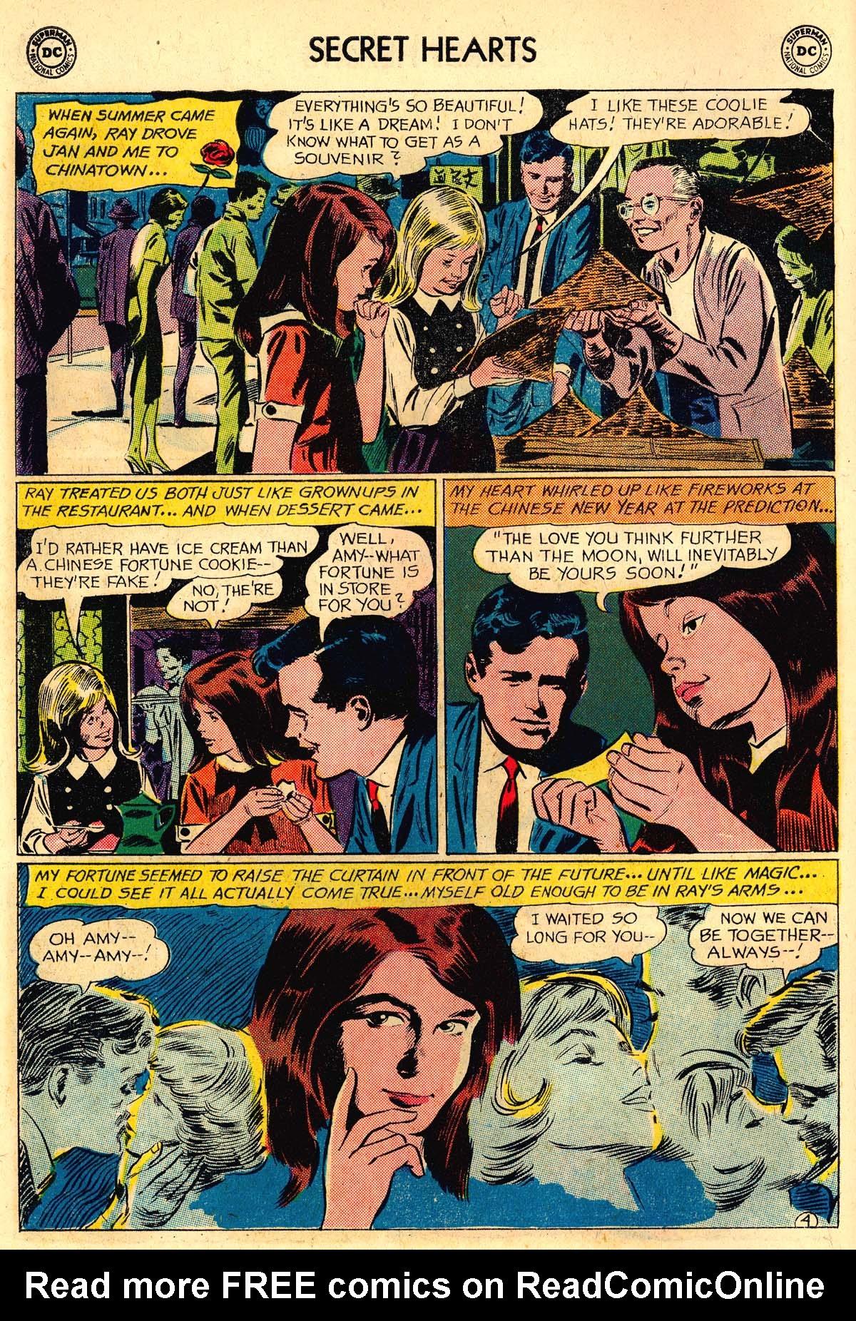 Read online Secret Hearts comic -  Issue #106 - 6