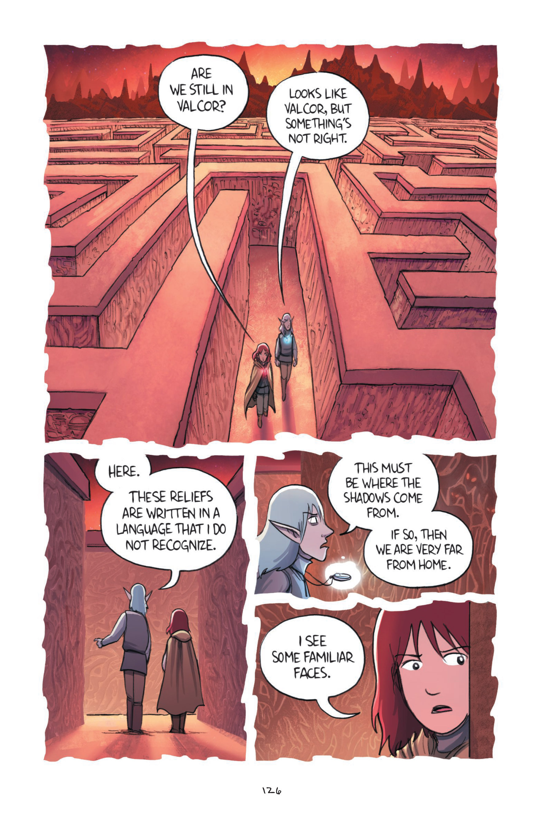 Read online Amulet comic -  Issue #7 - 126