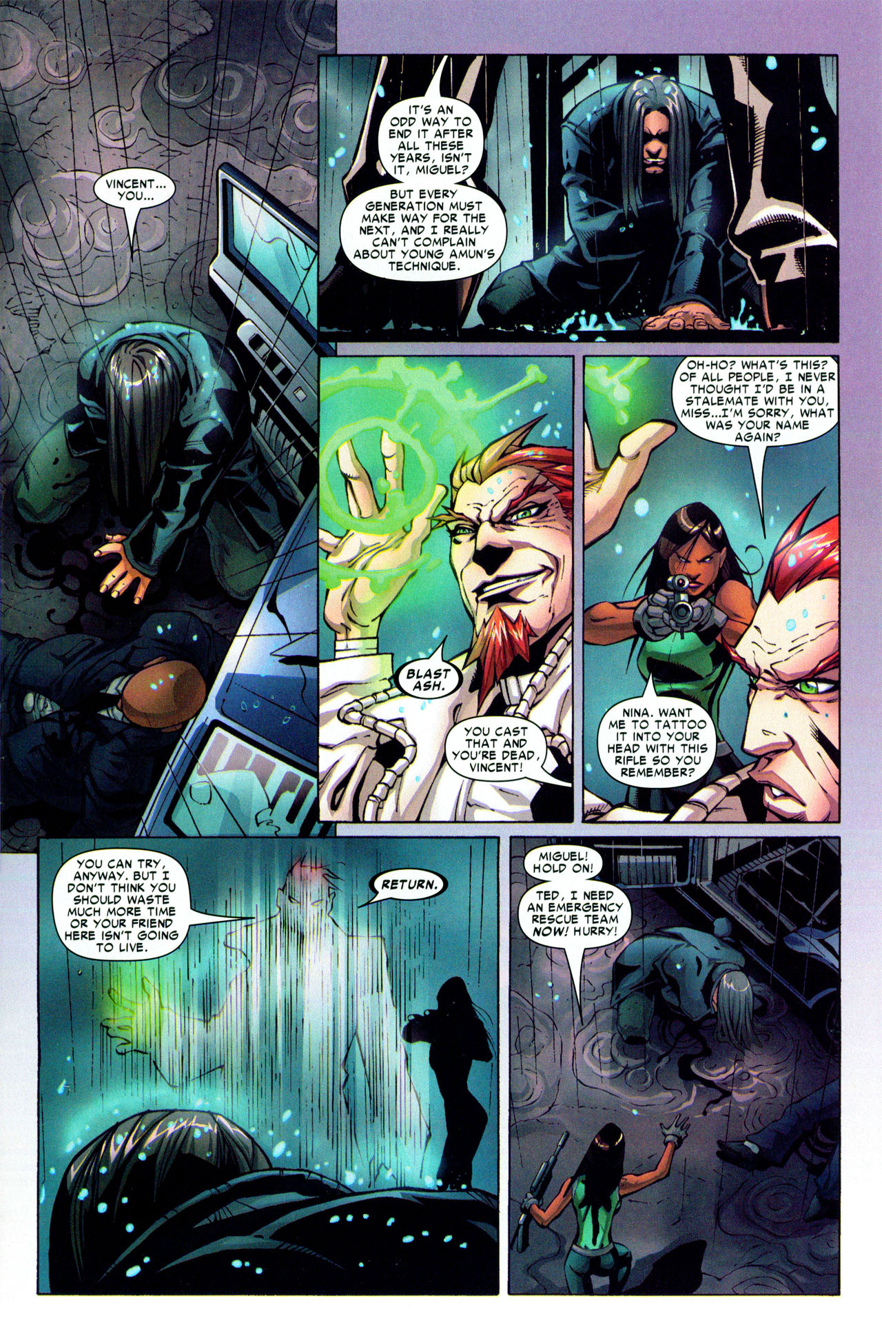 Read online Araña: Heart of the Spider comic -  Issue #3 - 23