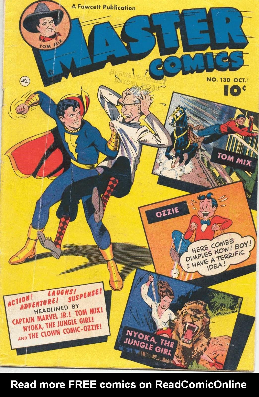 Master Comics 130 Page 1
