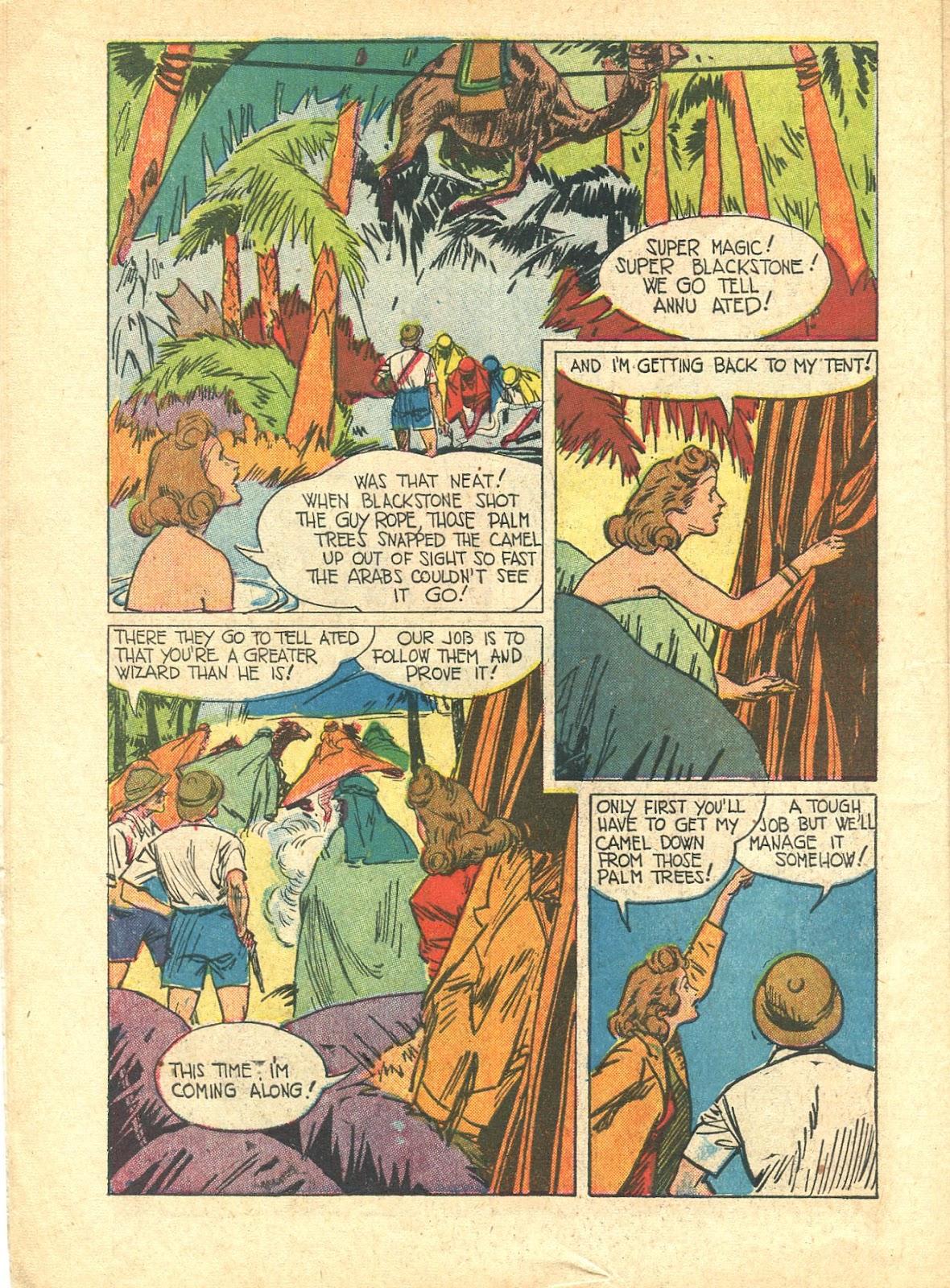 Read online Super-Magician Comics comic -  Issue #21 - 10