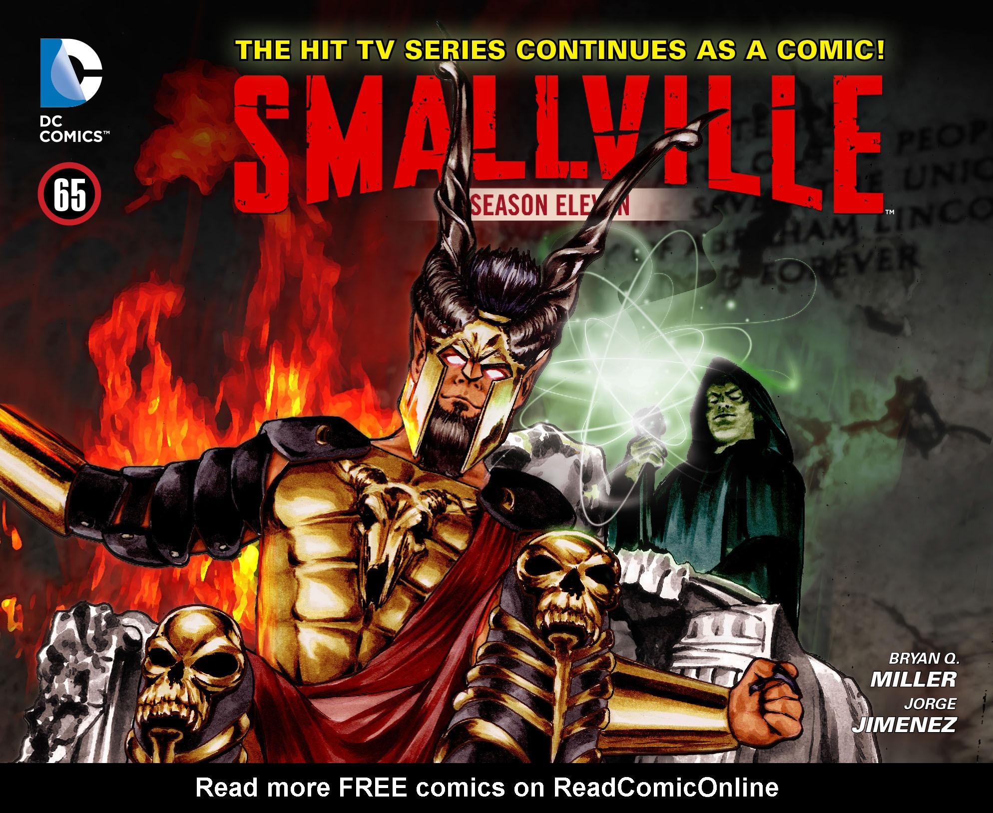 Read online Smallville: Season 11 comic -  Issue #65 - 1