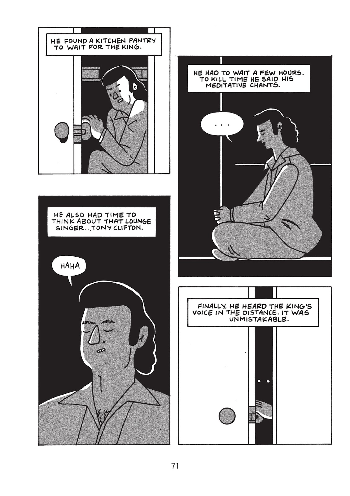 Read online Is This Guy For Real?: The Unbelievable Andy Kaufman comic -  Issue # TPB (Part 1) - 76