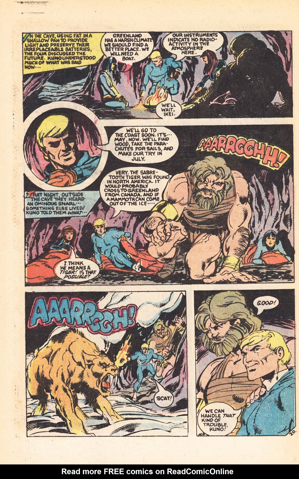 Read online Doomsday   1 (1975) comic -  Issue #7 - 28