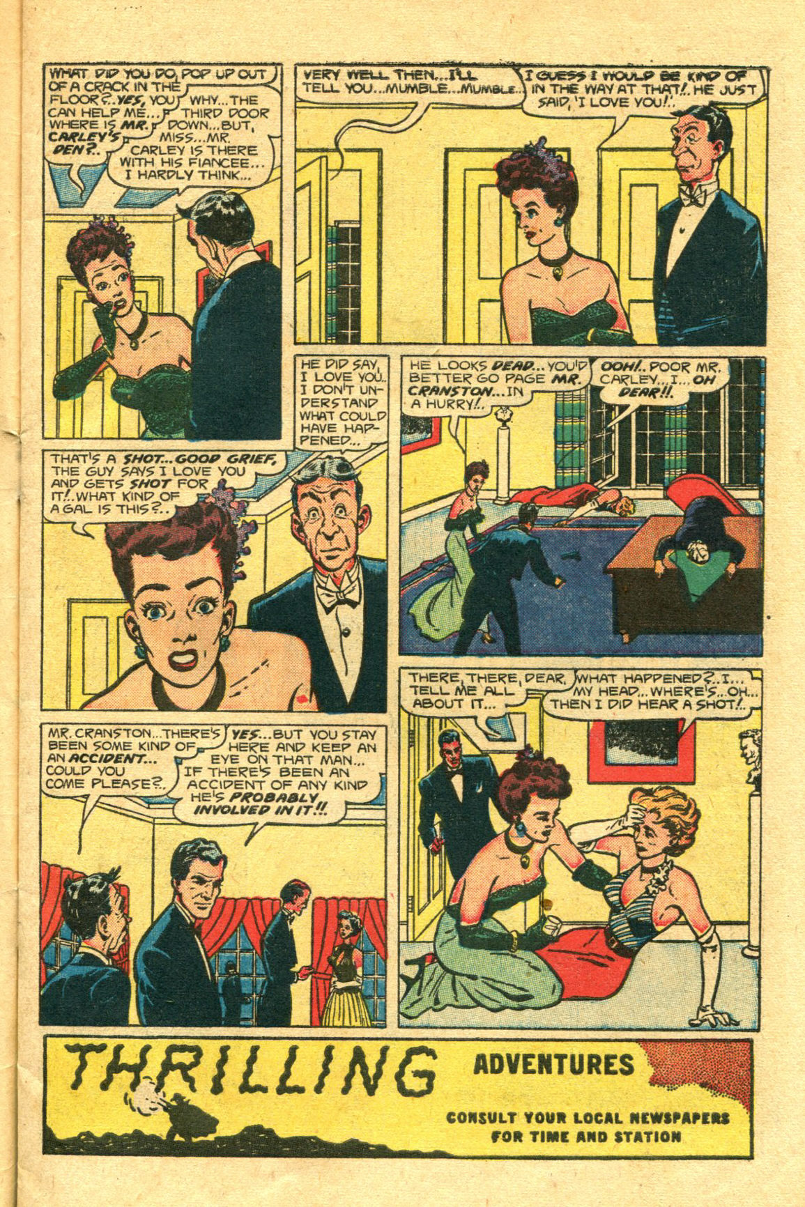Read online Shadow Comics comic -  Issue #98 - 5