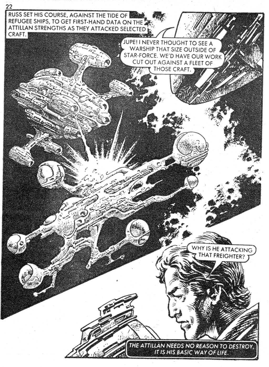 Starblazer issue 87 - Page 22