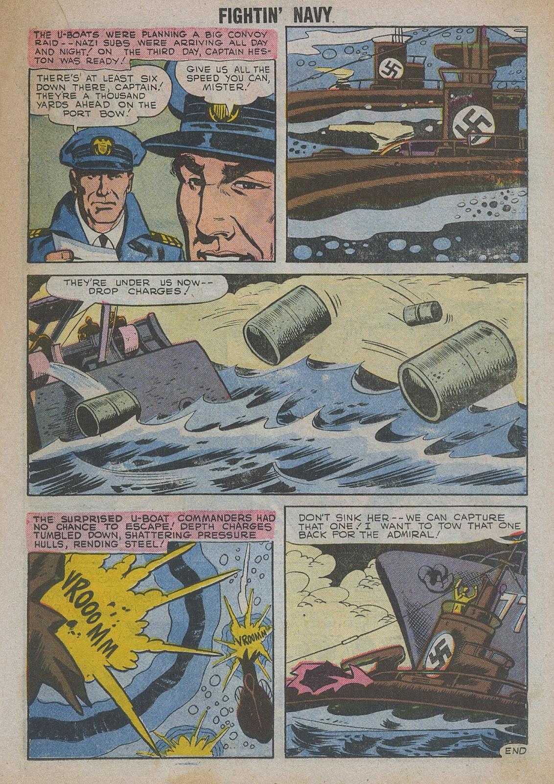 Read online Fightin' Navy comic -  Issue #82 - 37