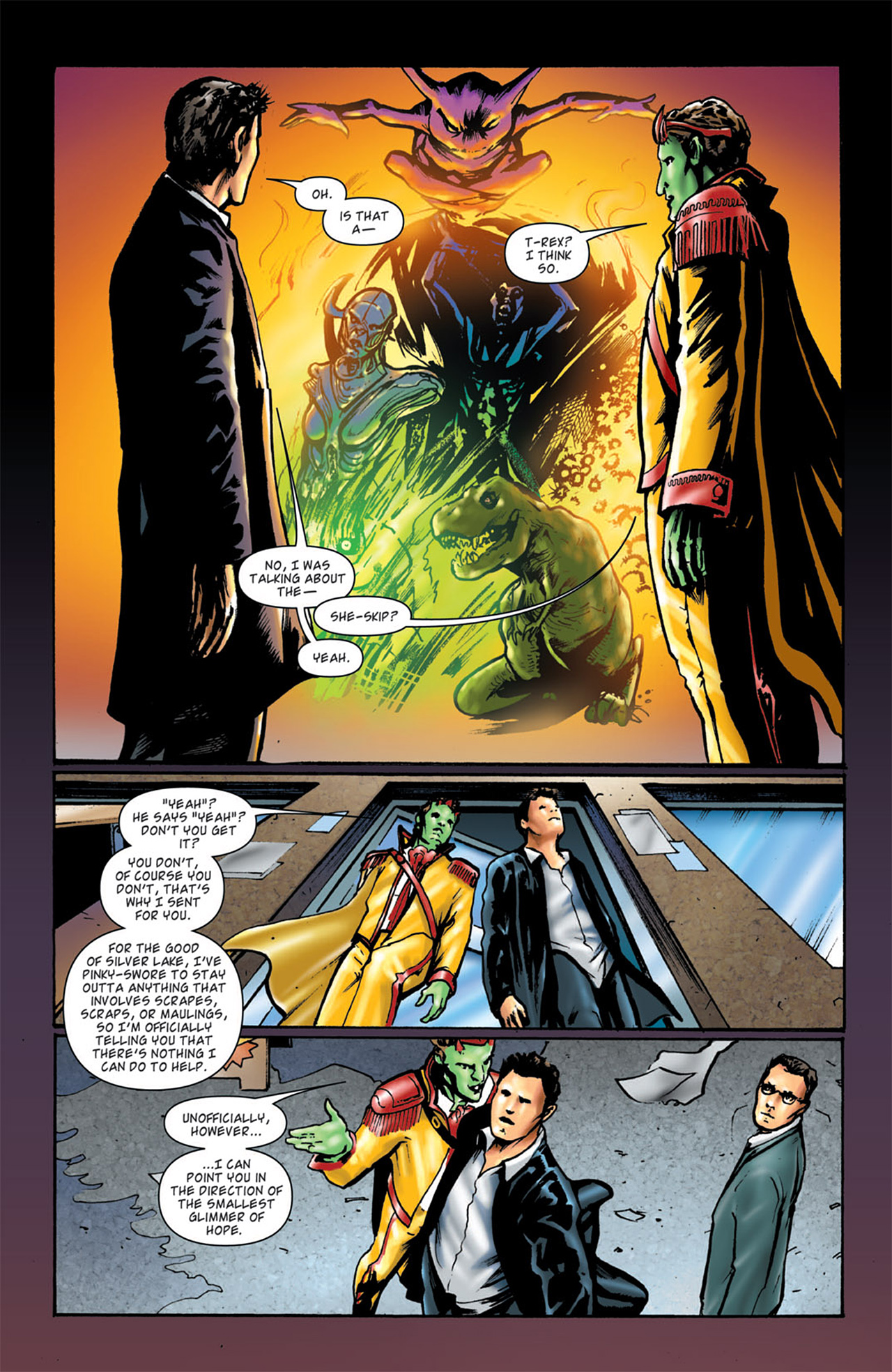 Read online Angel: After The Fall comic -  Issue #4 - 20