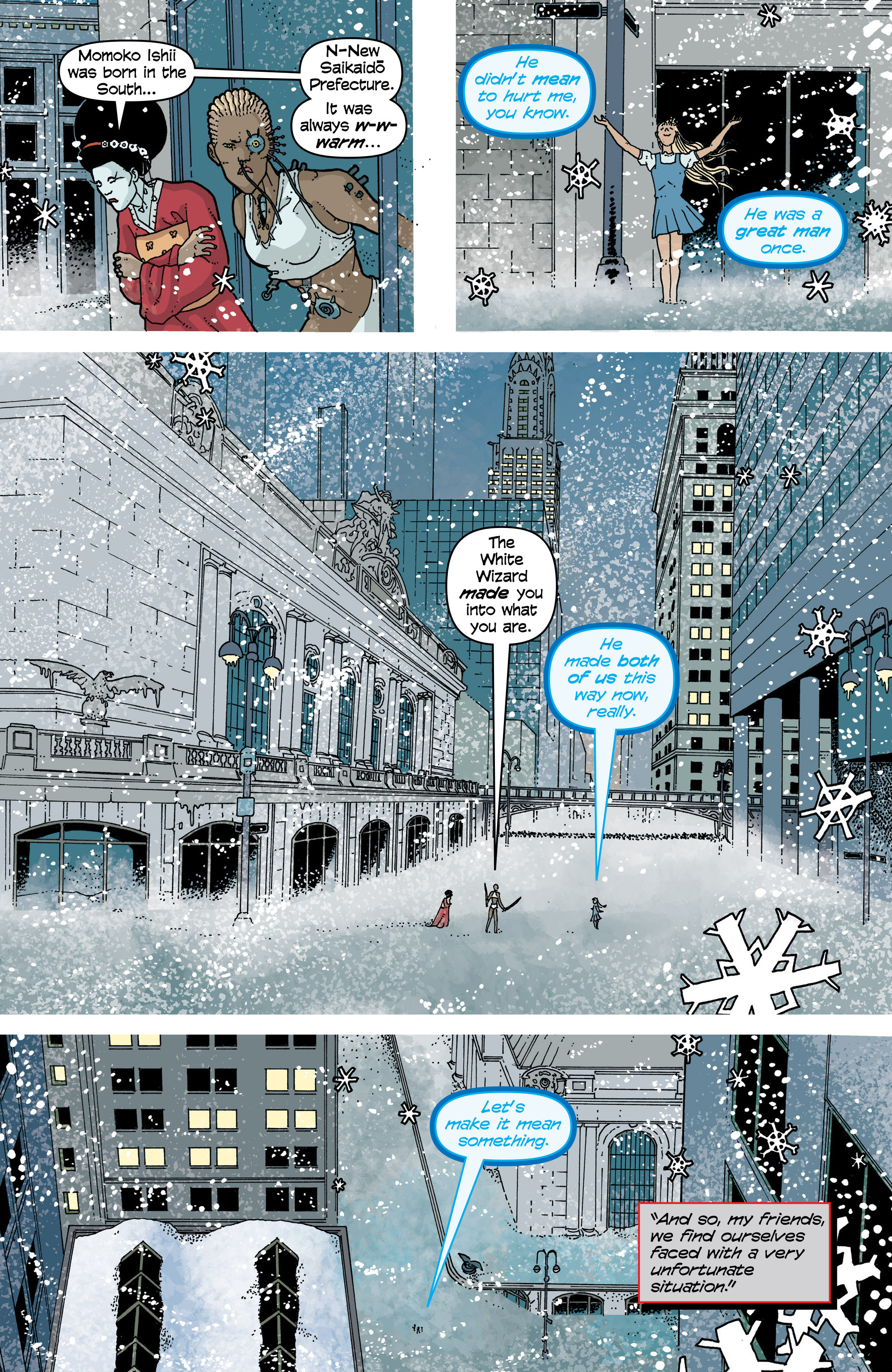 Read online Snowfall comic -  Issue #7 - 21