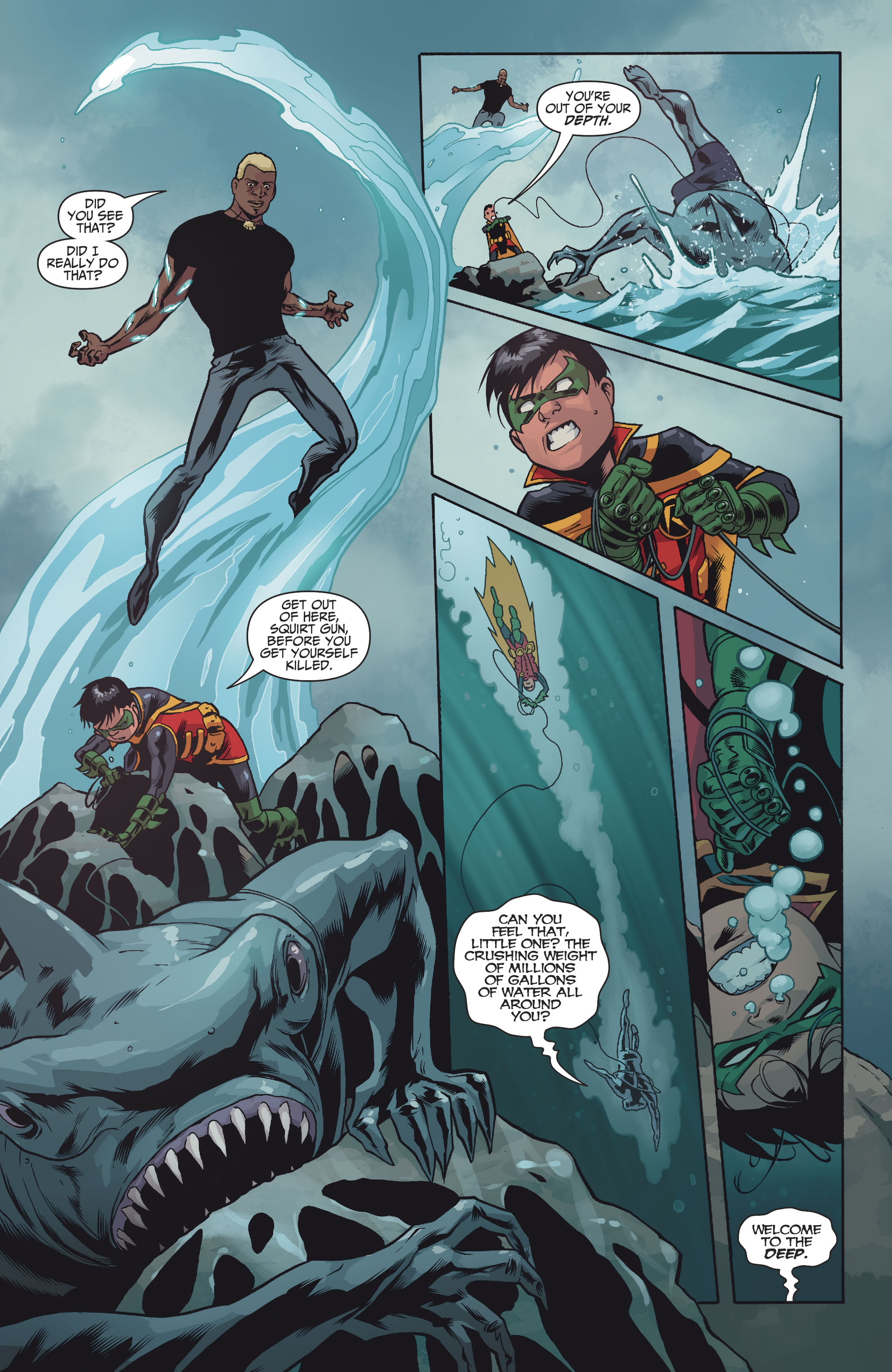 Read online Teen Titans (2016) comic -  Issue #7 - 17