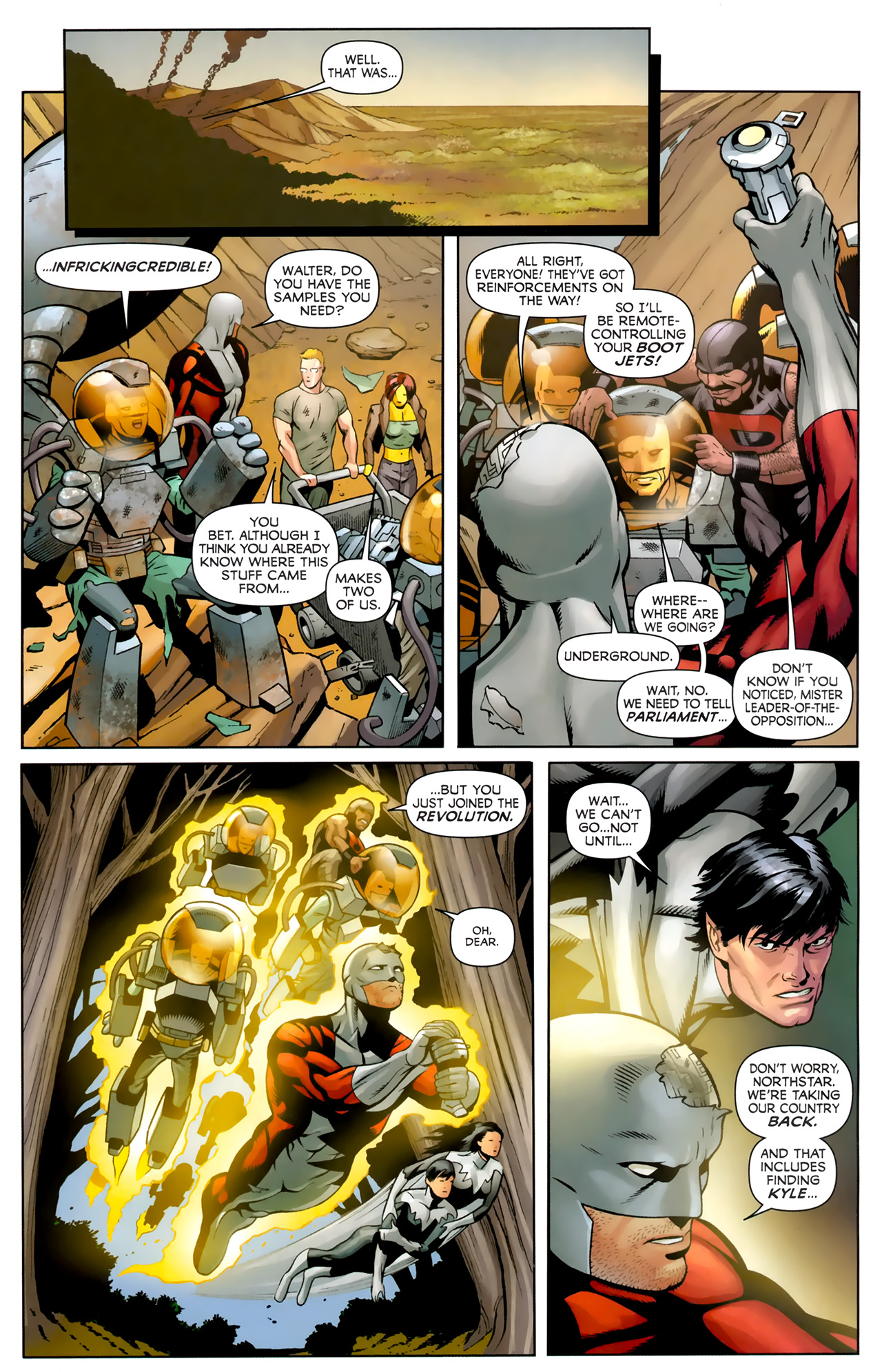 Read online Alpha Flight (2011) comic -  Issue #4 - 21