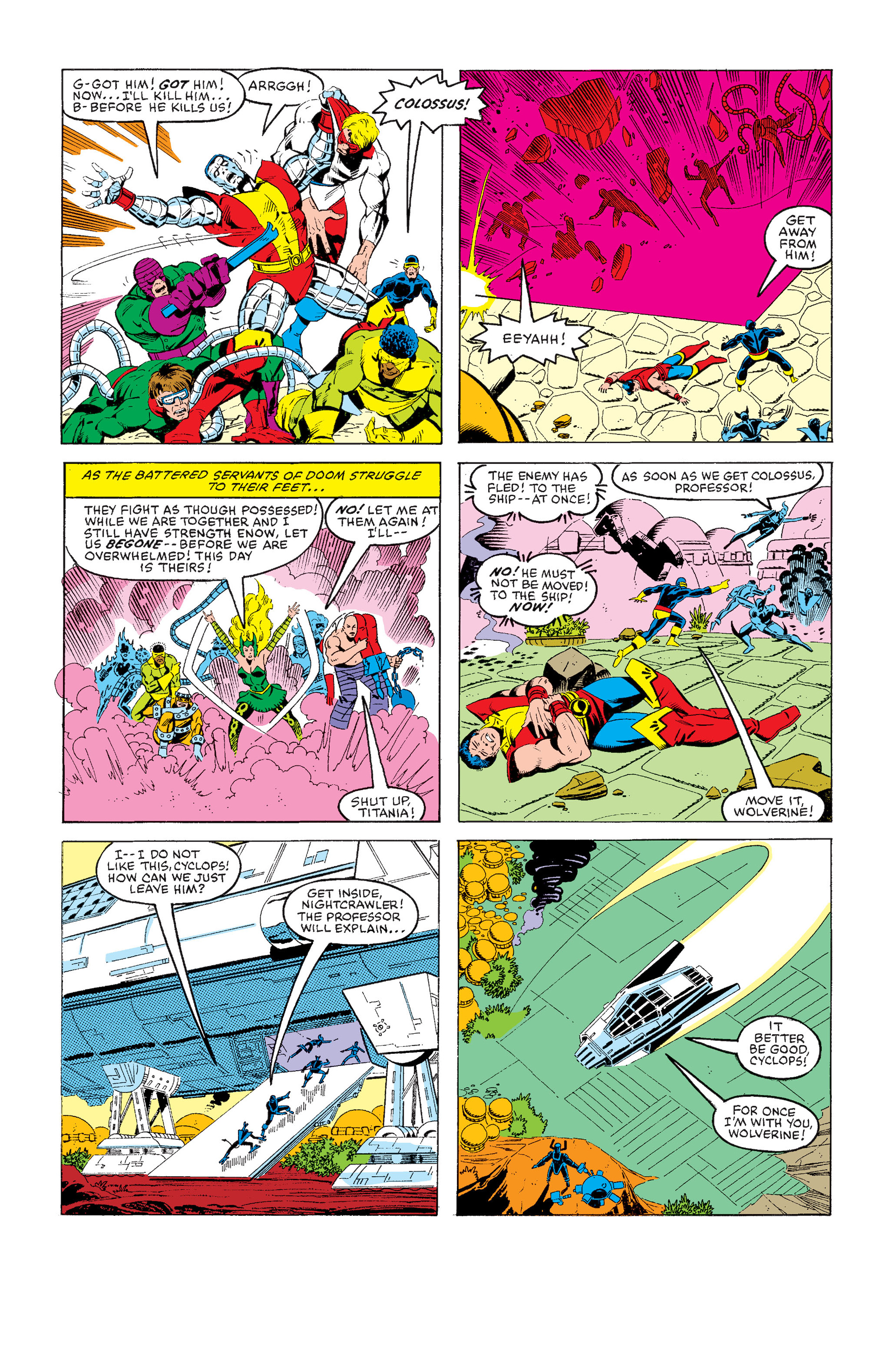 Read online Secret Wars (1985) comic -  Issue #5 - 22