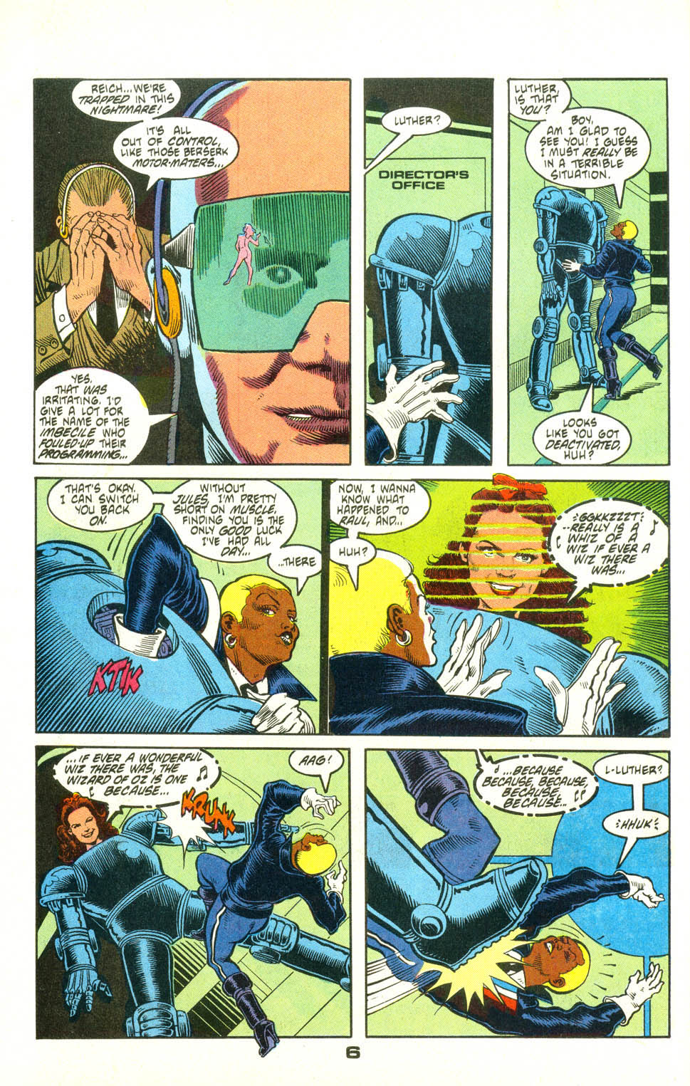Read online American Flagg! comic -  Issue #25 - 29