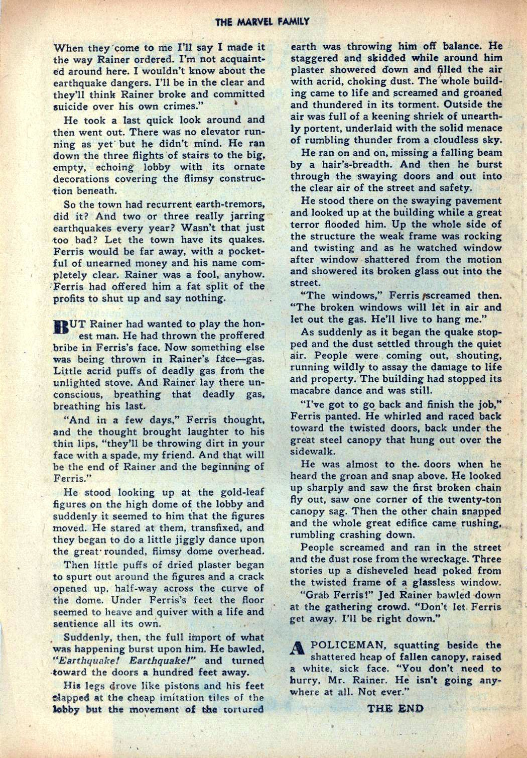 The Marvel Family issue 25 - Page 40
