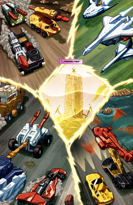 Read online Transformers Armada comic -  Issue #8 - 15