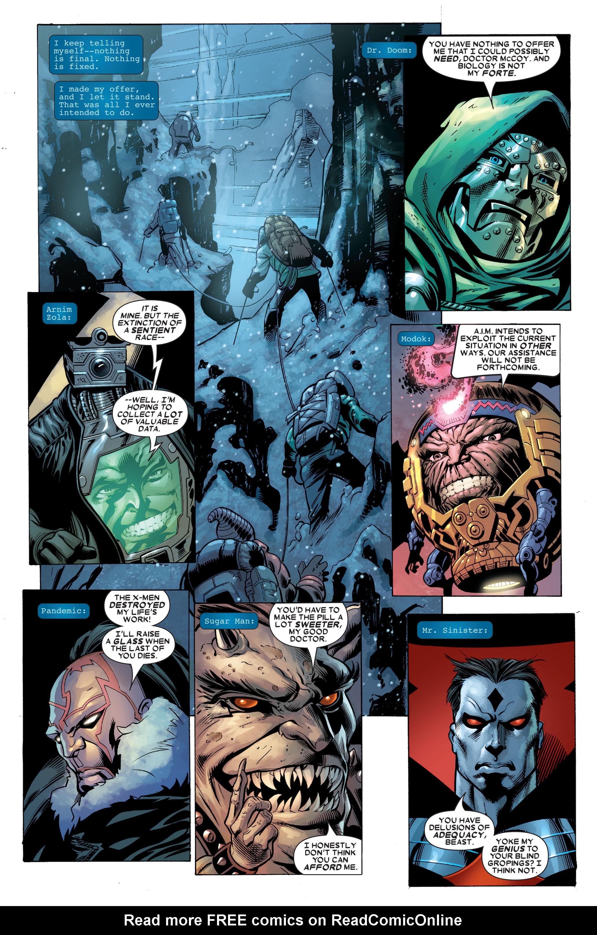 Read online Uncanny X-Men (1963) comic -  Issue #488 - 28