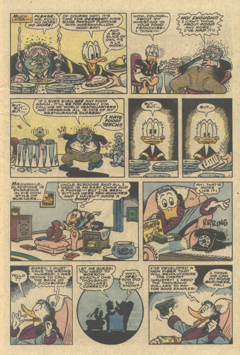 Read online Uncle Scrooge (1953) comic -  Issue #220 - 7