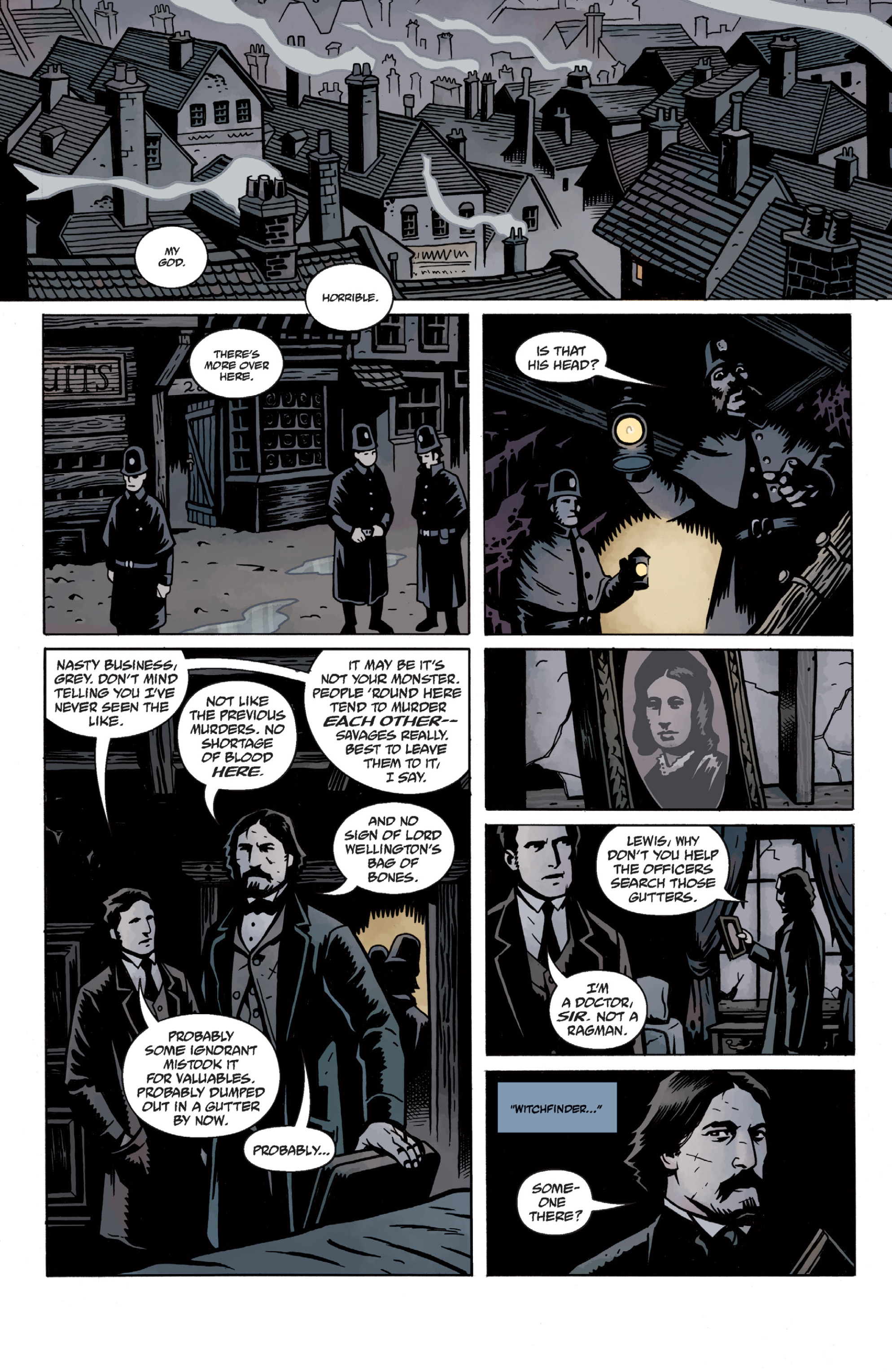 Read online Sir Edward Grey, Witchfinder: In the Service of Angels comic -  Issue # TPB - 32
