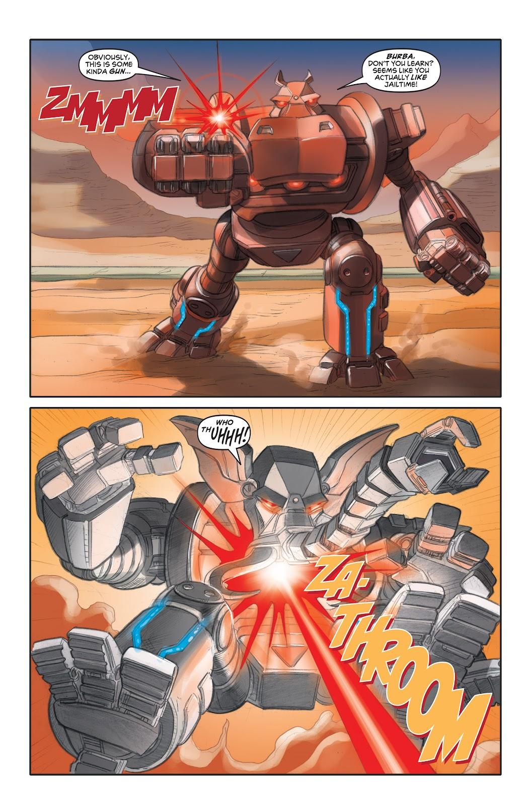 Read online Elephantmen 2261 Season Two: The Pentalion Job comic -  Issue # TPB - 57