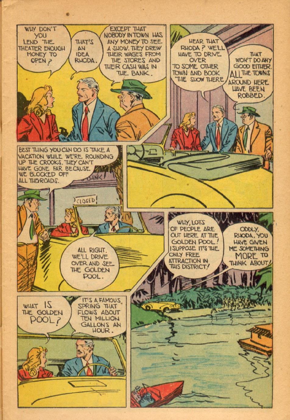 Read online Super-Magician Comics comic -  Issue #45 - 5