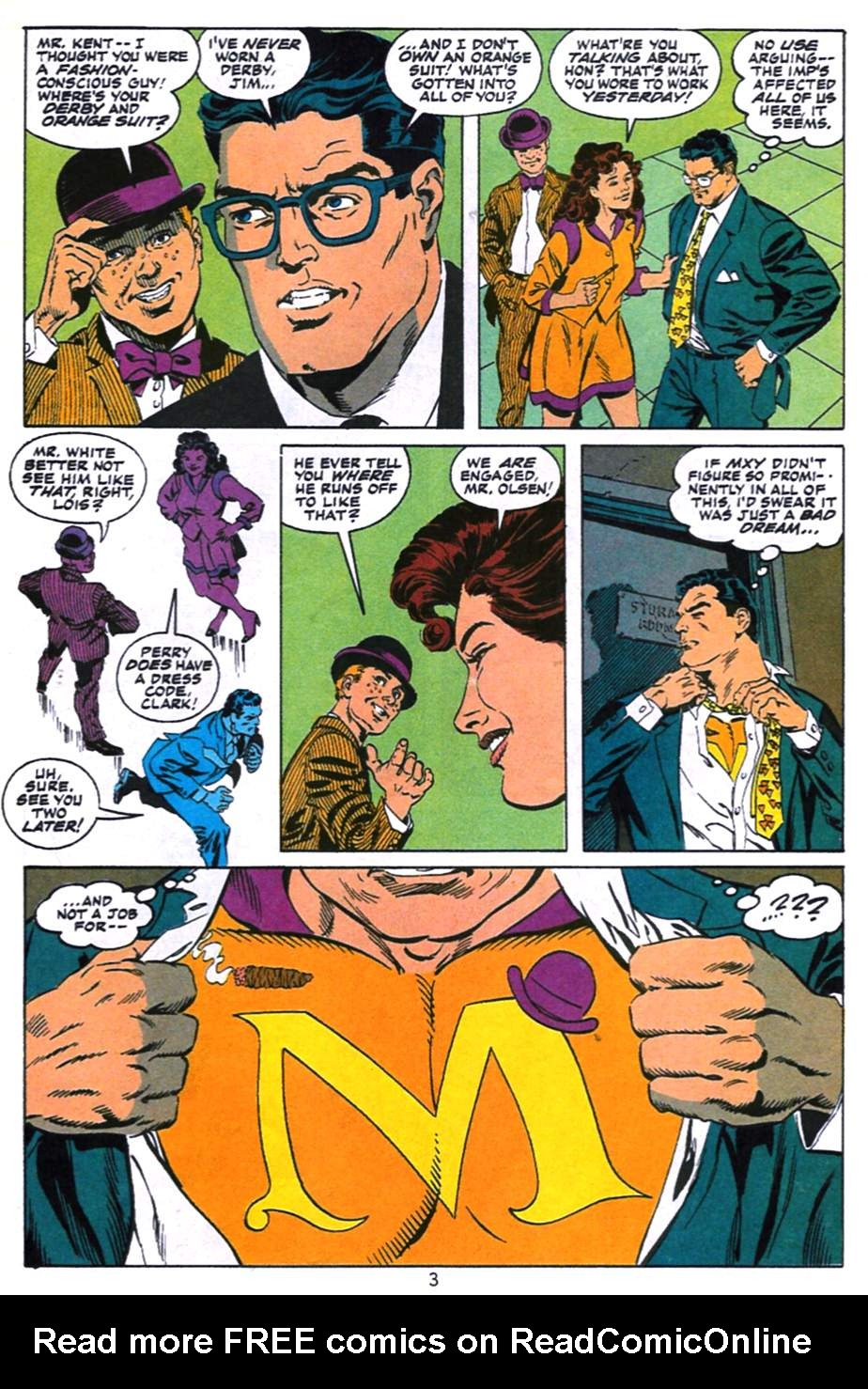 Read online Adventures of Superman (1987) comic -  Issue #496 - 4