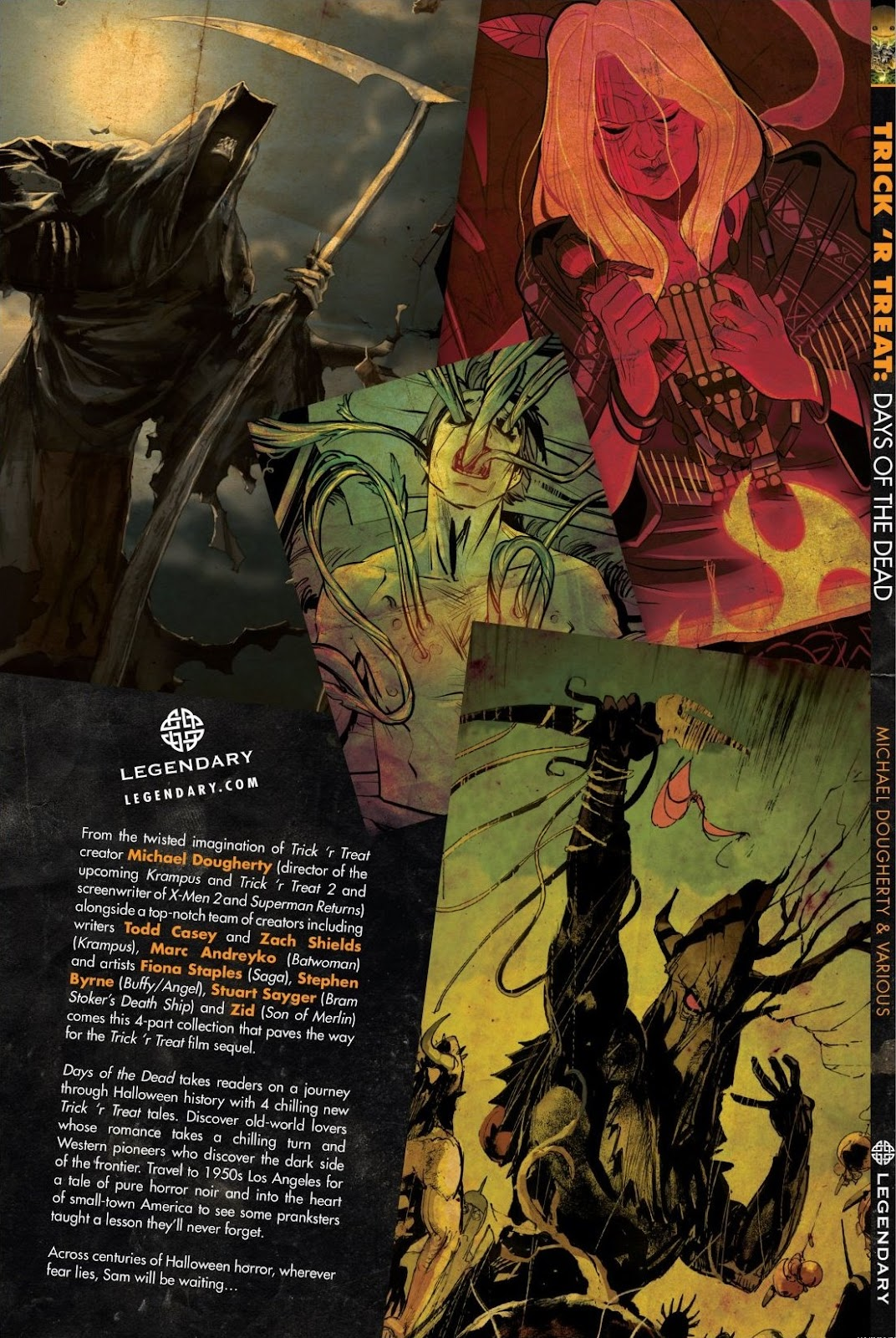 Read online Trick 'r Treat: Days of the Dead comic -  Issue # TPB - 144