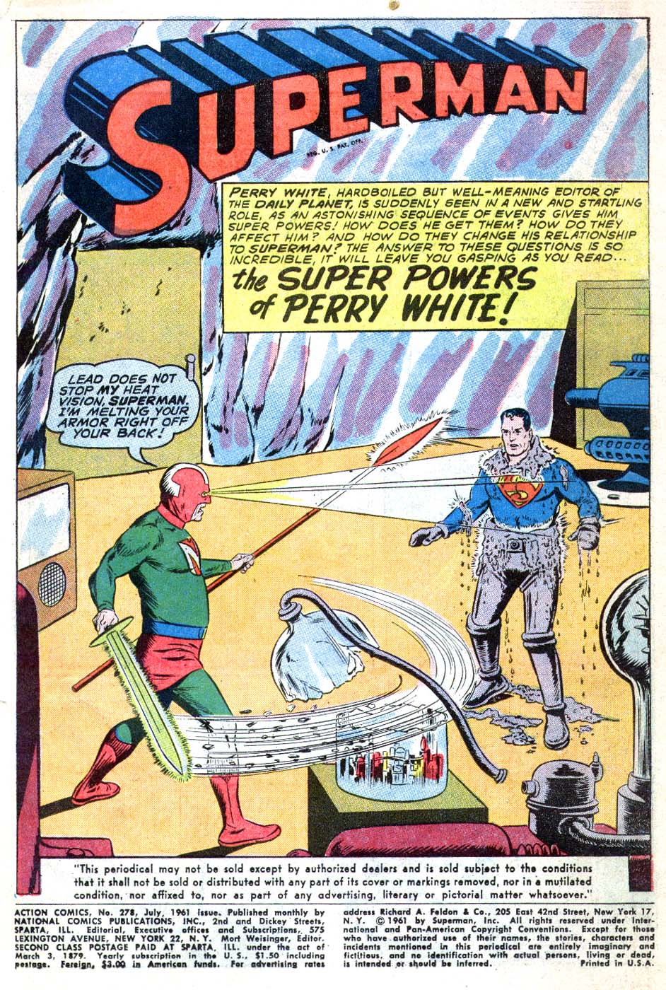 Read online Action Comics (1938) comic -  Issue #278 - 3