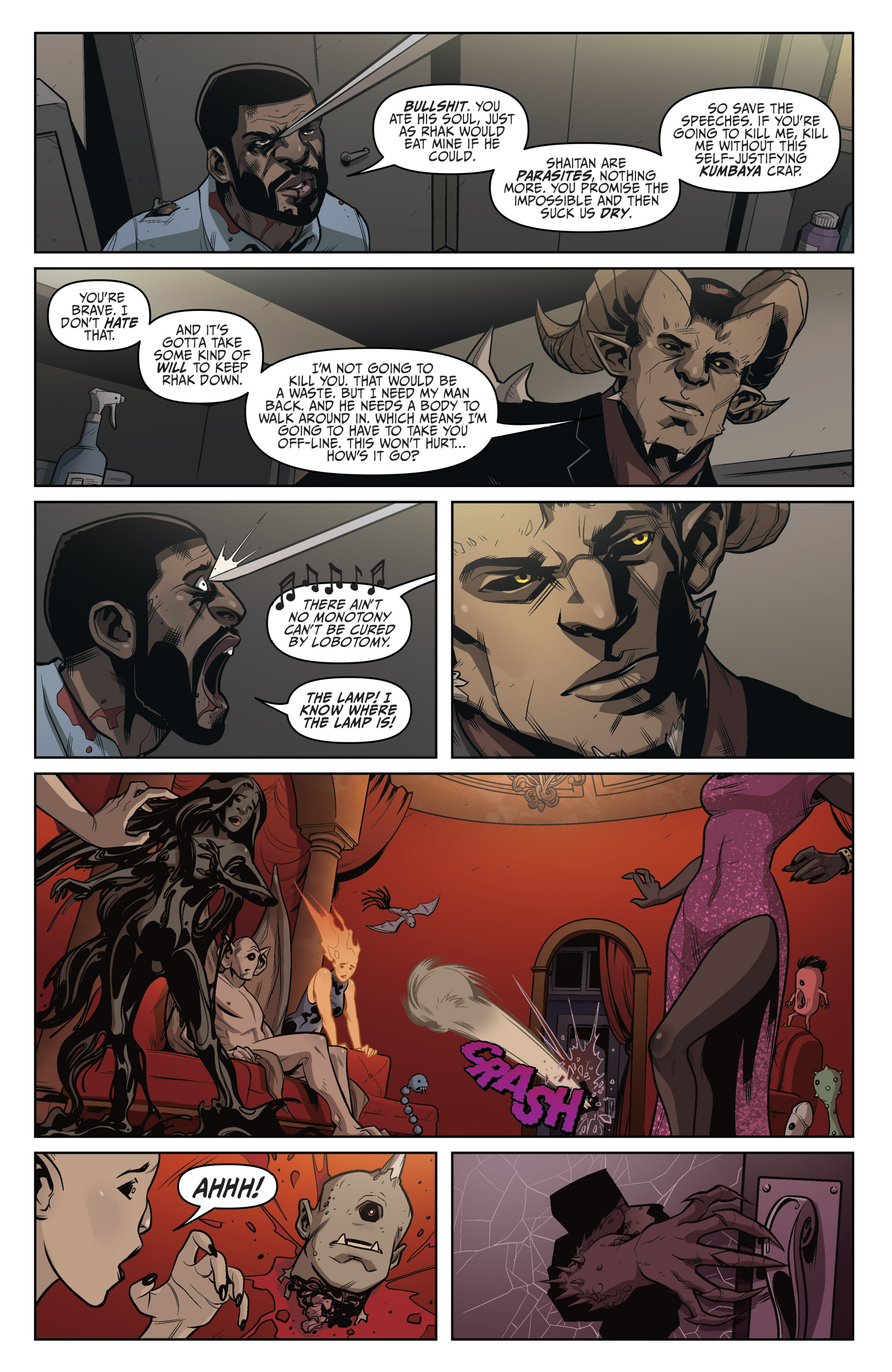 Read online Darkness Visible comic -  Issue #4 - 19