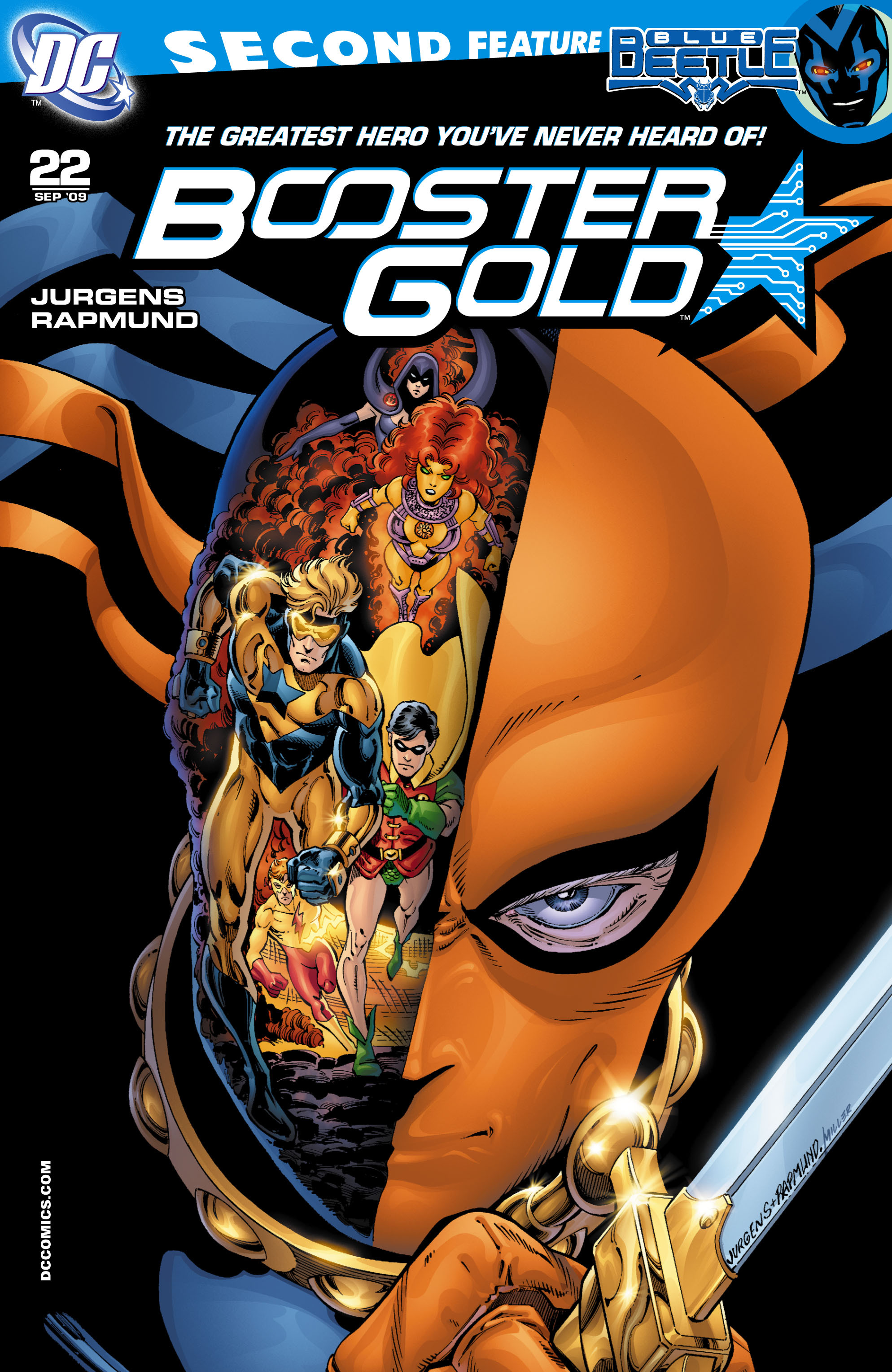 Booster Gold 2007 Issue 22