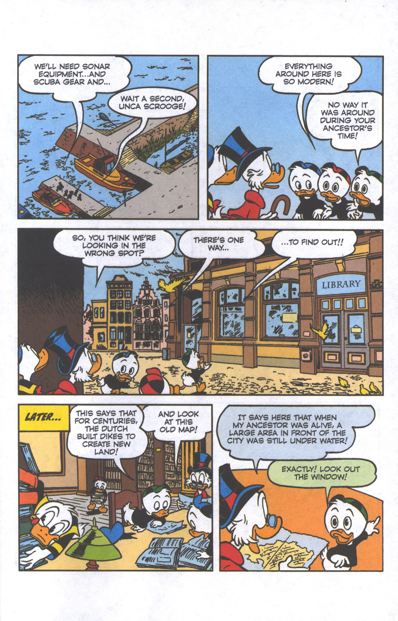 Read online Uncle Scrooge (1953) comic -  Issue #385 - 22