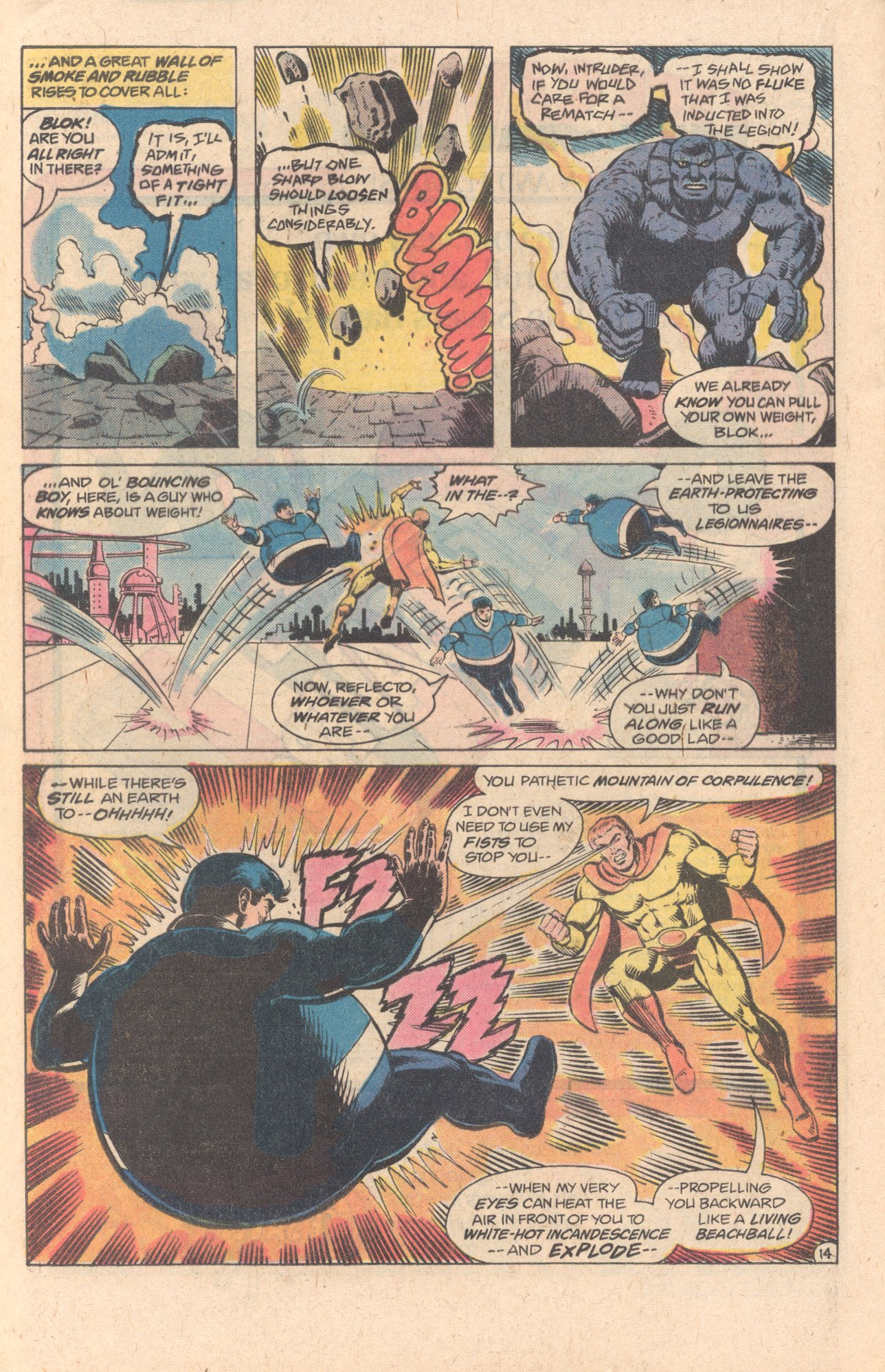 Legion of Super-Heroes (1980) 278 Page 14