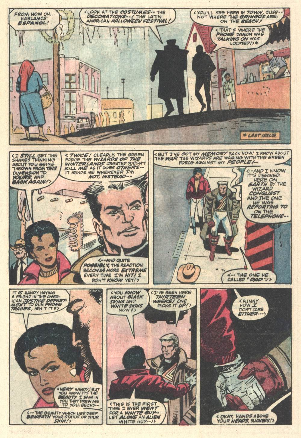 Read online Justice (1986) comic -  Issue #5 - 4