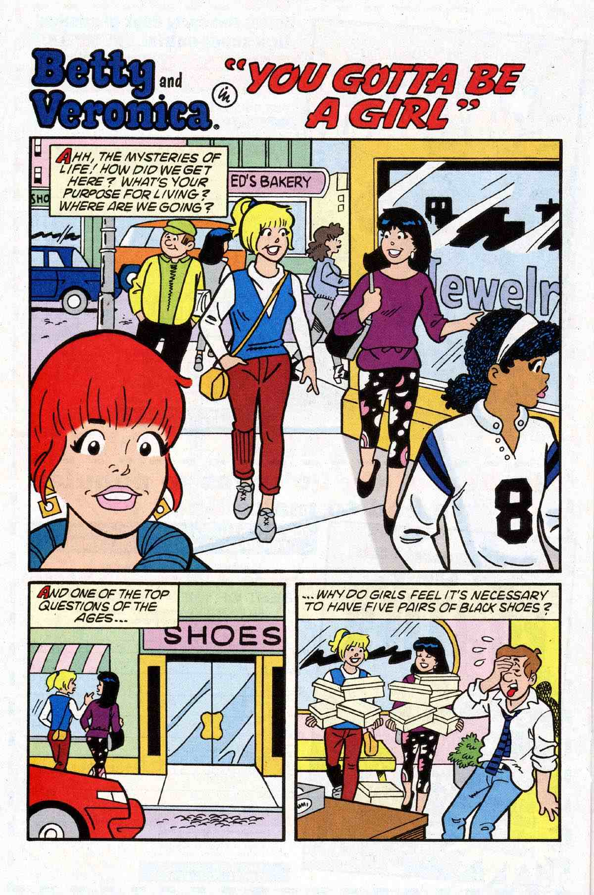 Read online Archie's Girls Betty and Veronica comic -  Issue #180 - 19