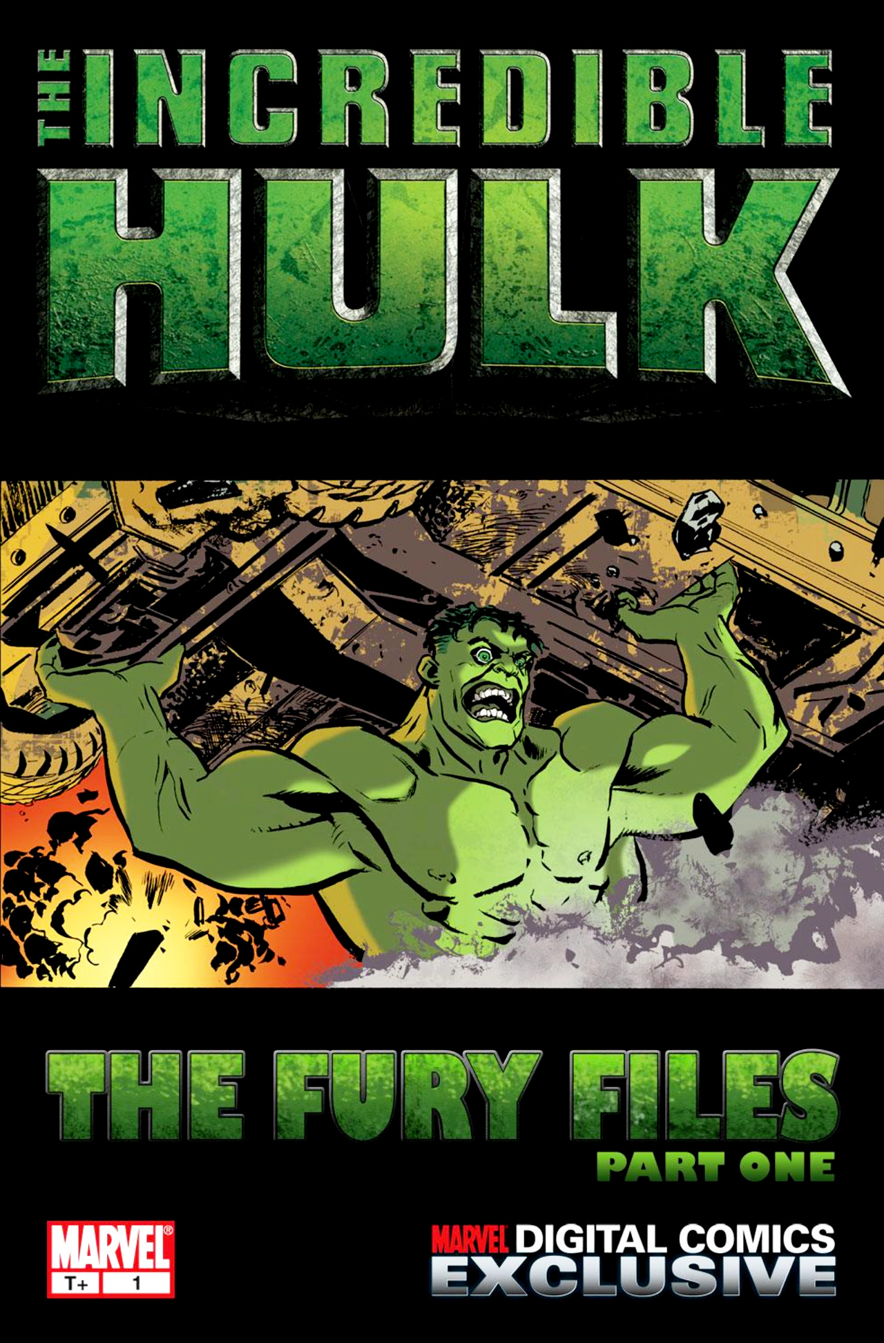 Read online Incredible Hulk: The Fury Files comic -  Issue #1 - 1