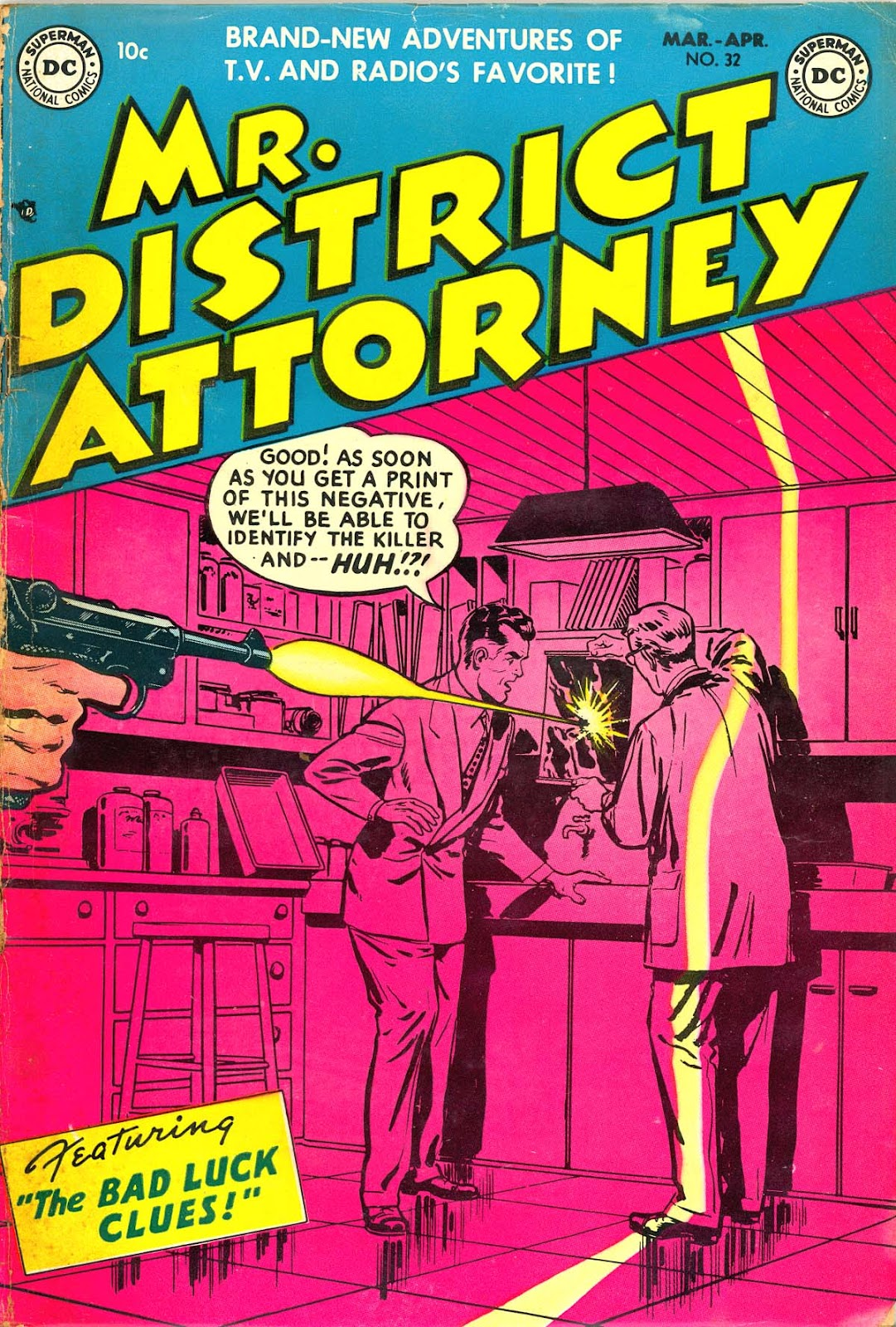 Mr. District Attorney issue 32 - Page 1