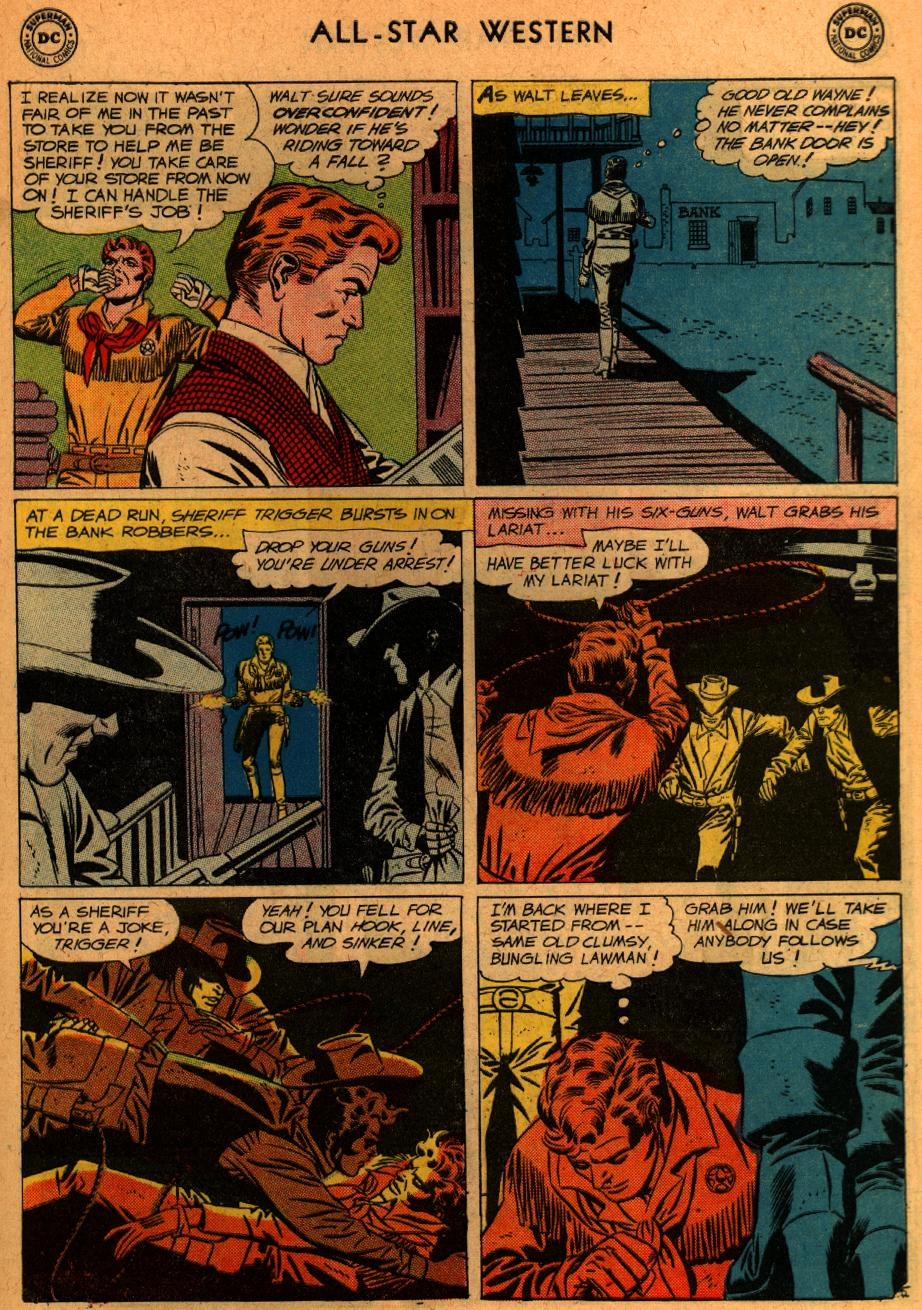 Read online All-Star Western (1951) comic -  Issue #107 - 30