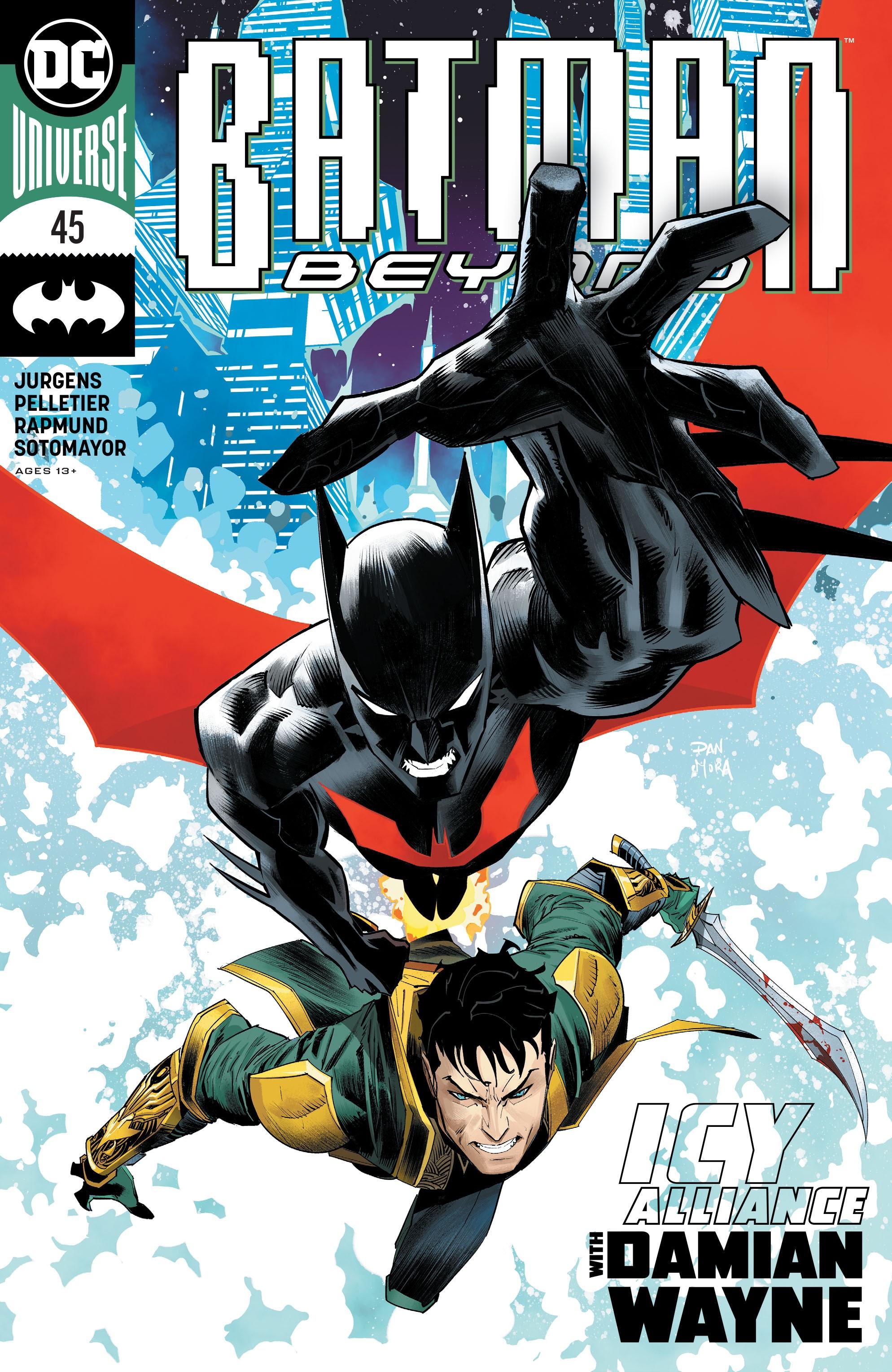 Batman Beyond (2016) 45 Page 1
