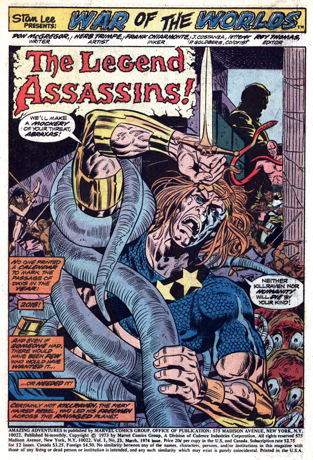 Read online Amazing Adventures (1970) comic -  Issue #23 - 3