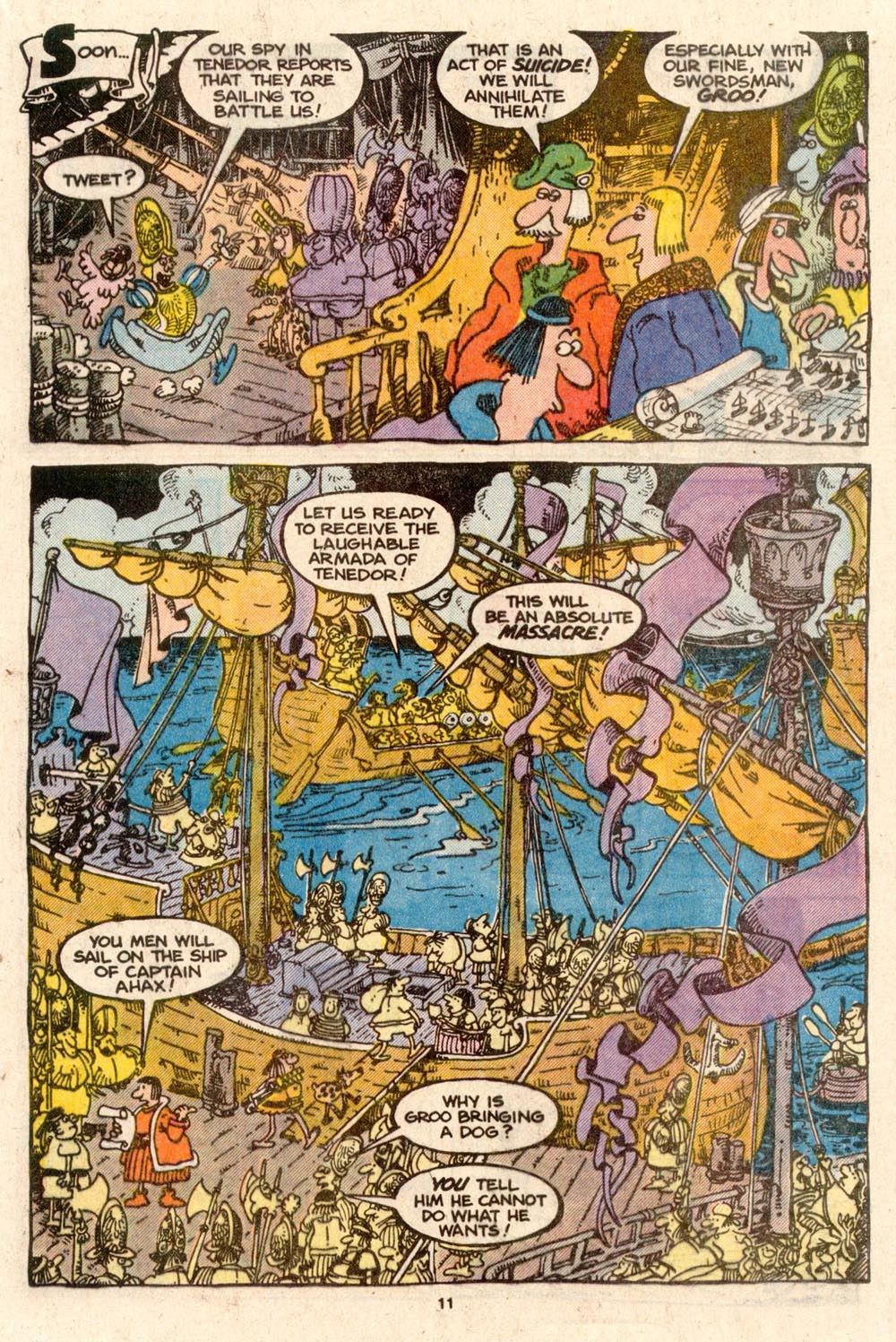 Read online Sergio Aragonés Groo the Wanderer comic -  Issue #54 - 11