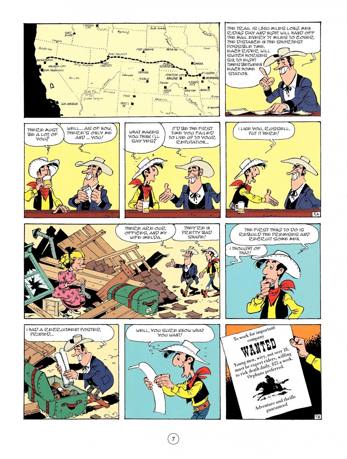 Read online A Lucky Luke Adventure comic -  Issue #46 - 7