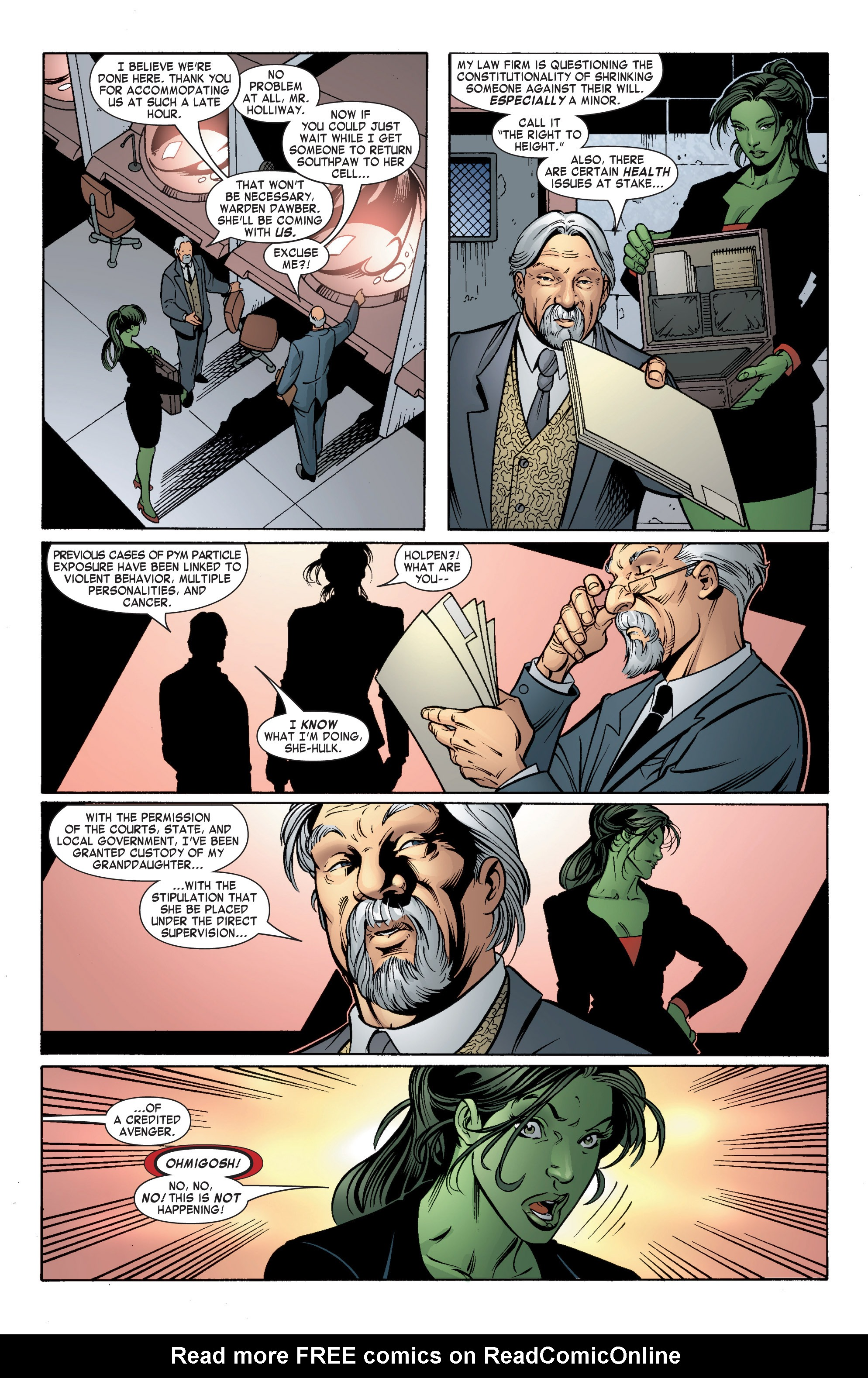 Read online She-Hulk (2004) comic -  Issue #5 - 23