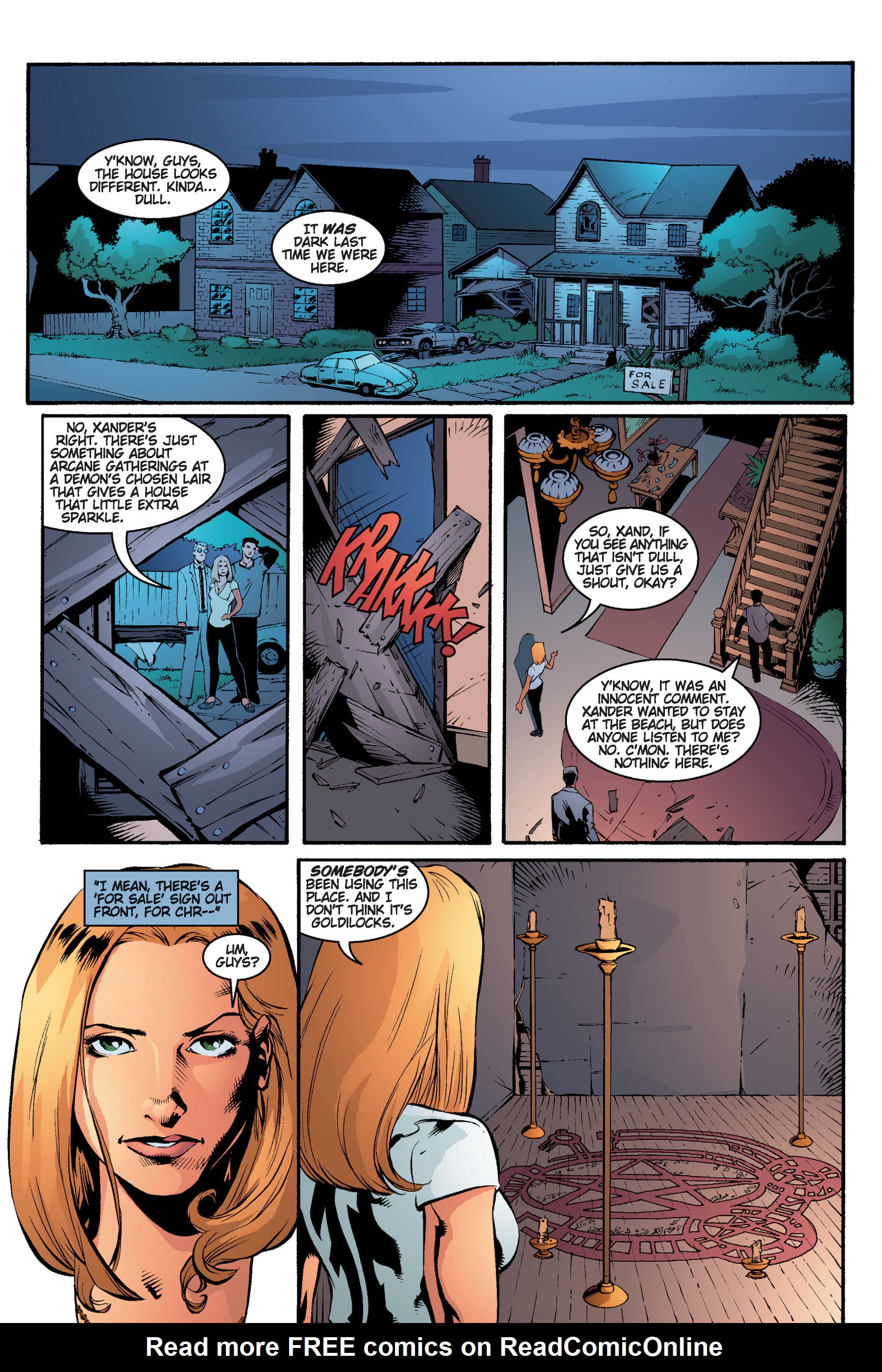 Read online Buffy the Vampire Slayer: Omnibus comic -  Issue # TPB 3 - 215