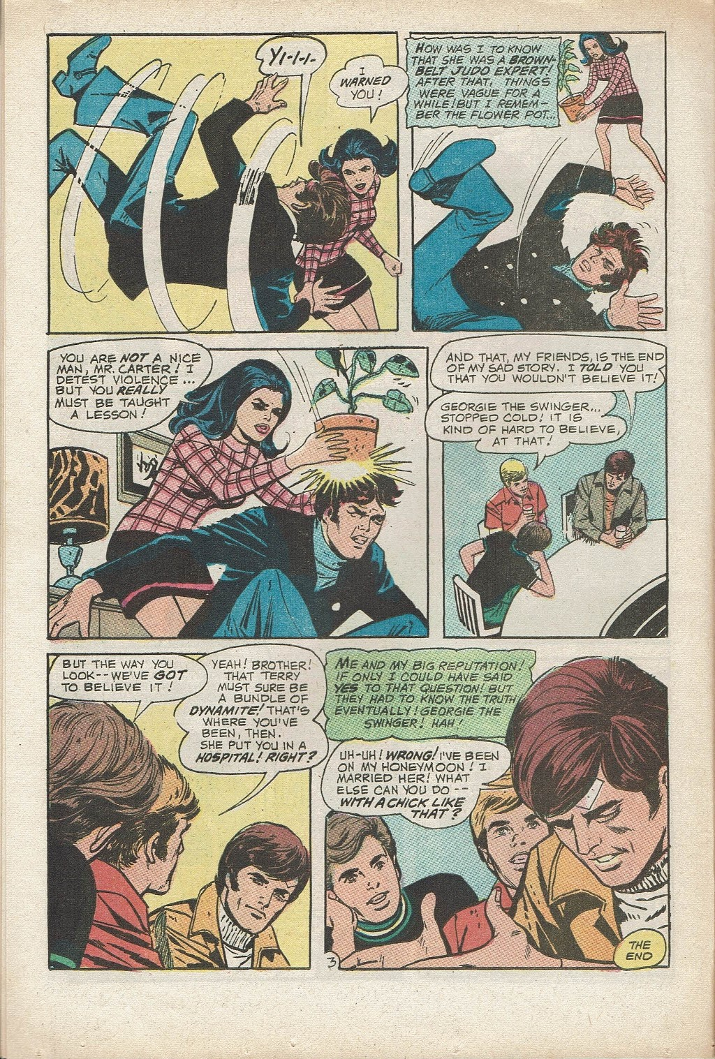 Read online Secret Hearts comic -  Issue #153 - 16