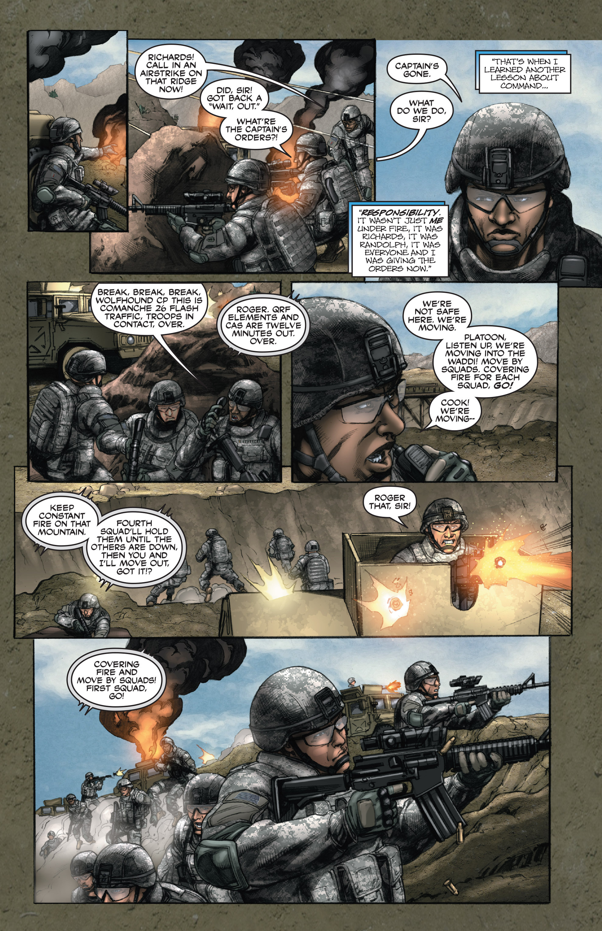 Read online America's Army comic -  Issue #14 - 15
