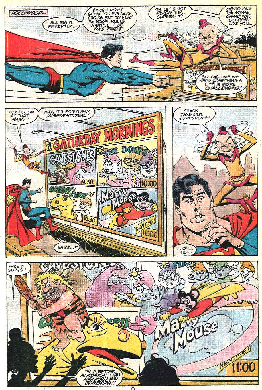 Read online Adventures of Superman (1987) comic -  Issue #441 - 9
