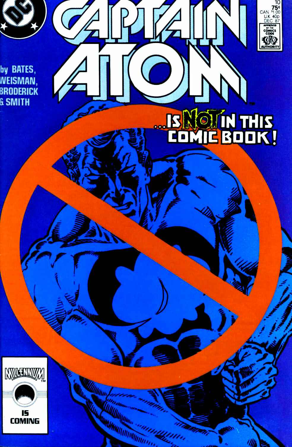Captain Atom (1987) 10 Page 1