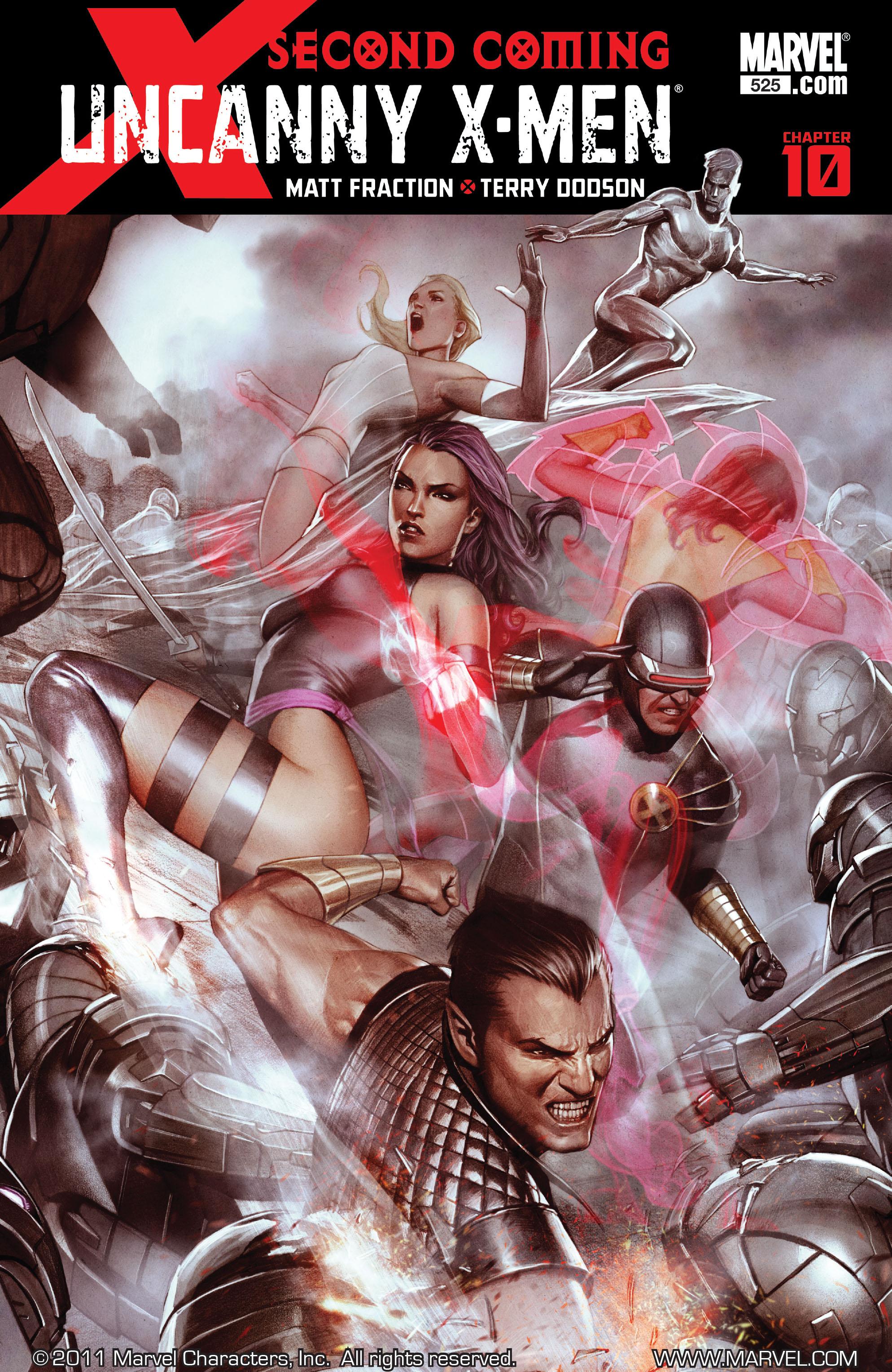 Read online Uncanny X-Men (1963) comic -  Issue #525 - 1