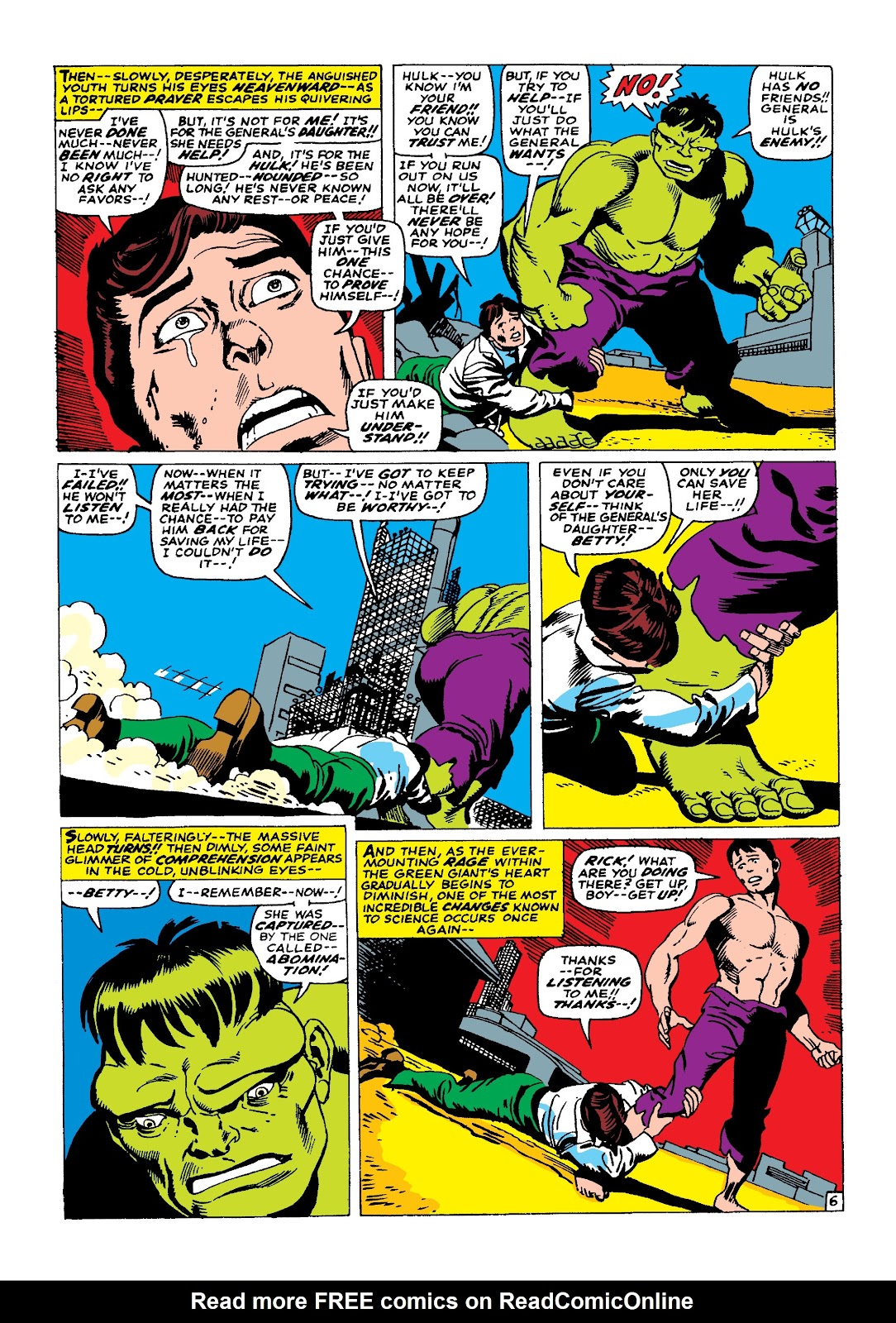Read online Marvel Masterworks: The Incredible Hulk comic -  Issue # TPB 3 (Part 2) - 34