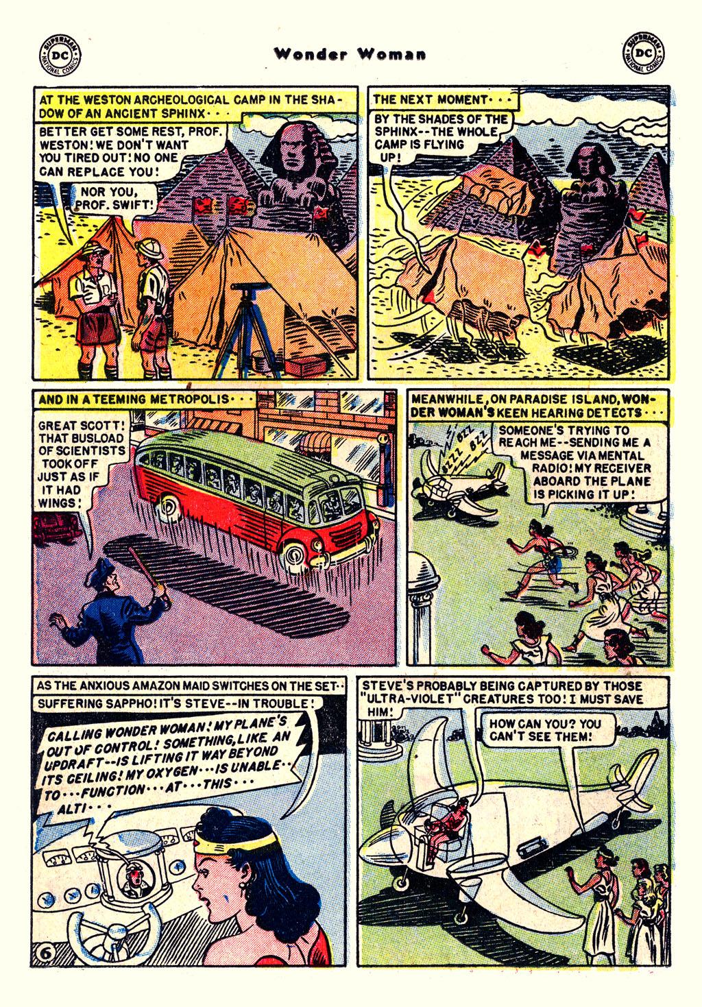 Read online Wonder Woman (1942) comic -  Issue #54 - 20